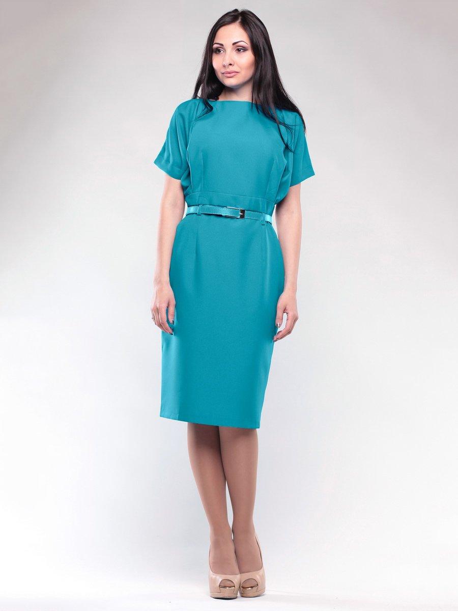 Платье бирюзовое   1692548