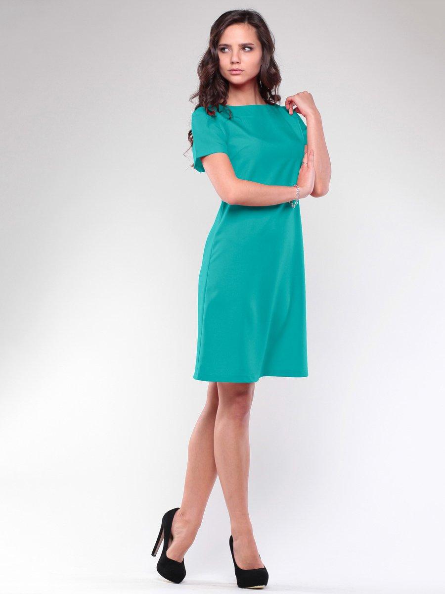 Сукня темно-ментолового кольору | 1706707