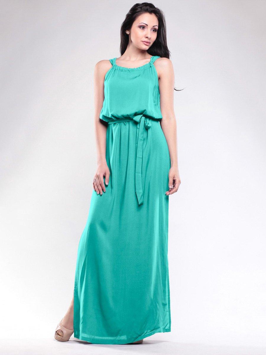 Сукня темно-ментолового кольору | 1706768