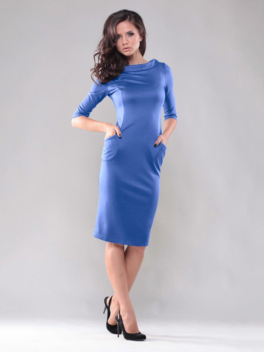 Платье цвета электрик | 1717222