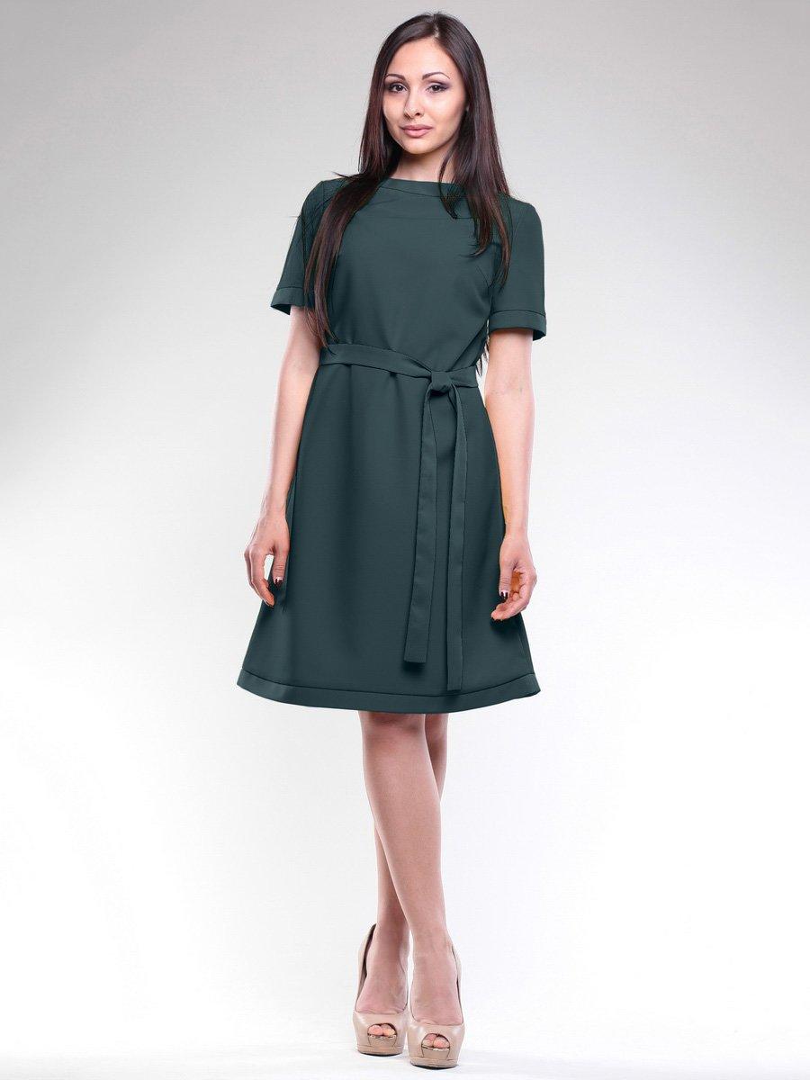Сукня темно-смарагдового кольору | 1717261