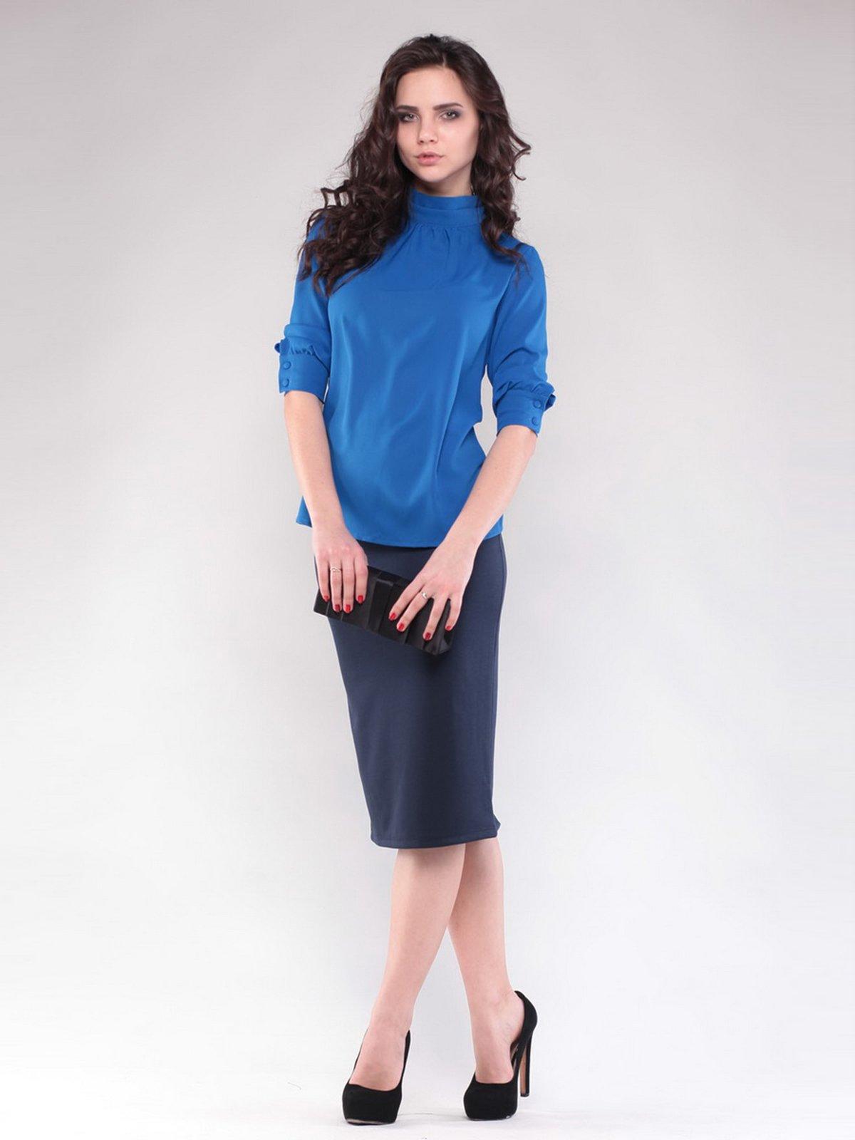 Блуза цвета электрик | 1717086