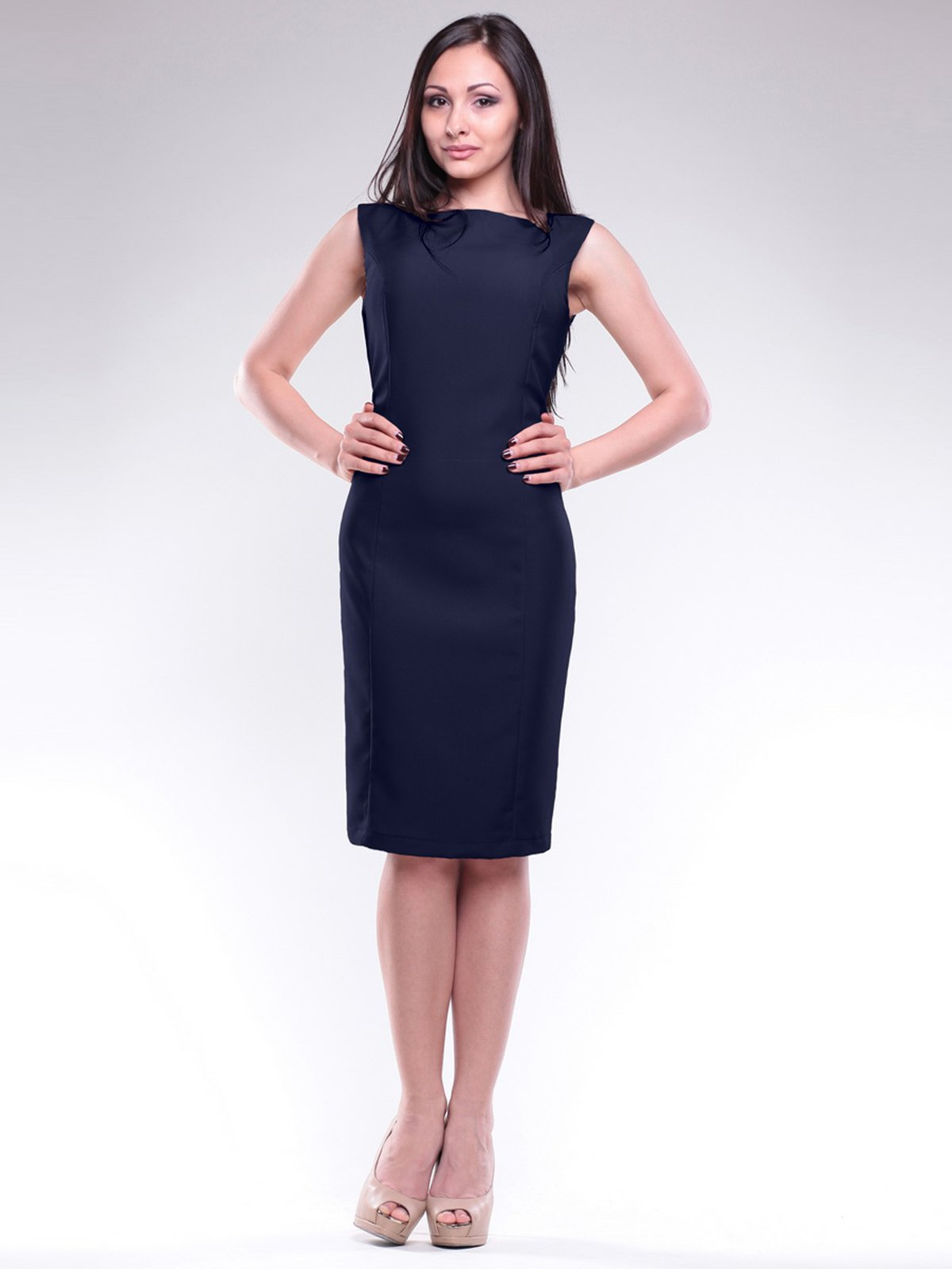 Сукня темно-синя | 1716967