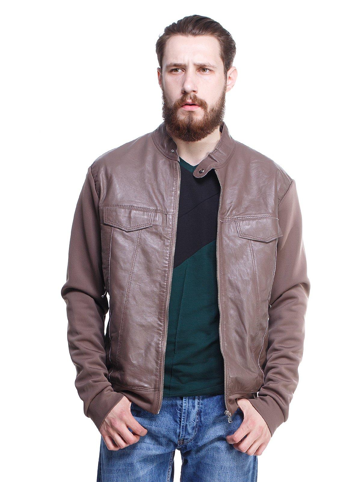 Куртка цвета фанго | 1373458