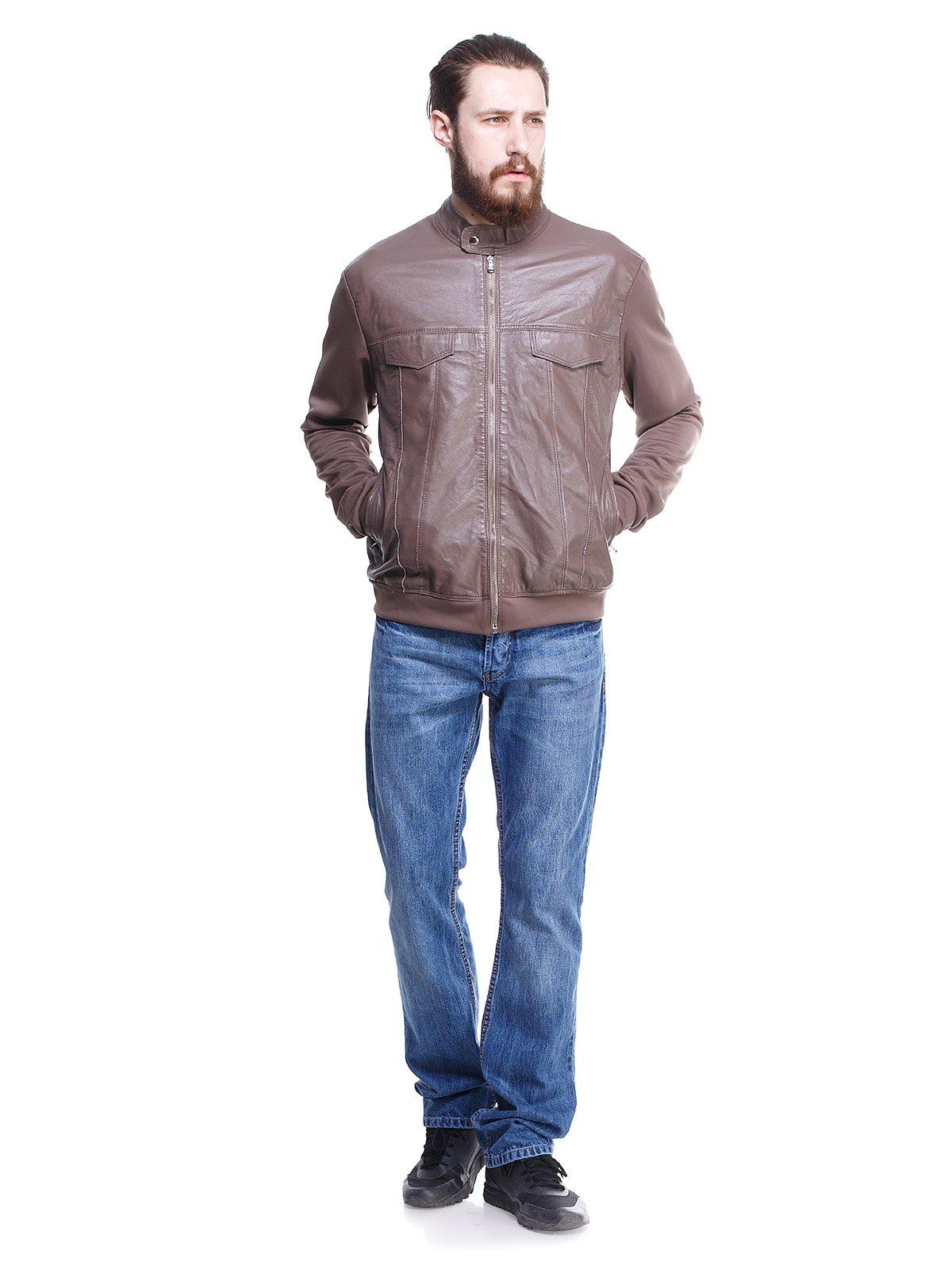 Куртка цвета фанго | 1373458 | фото 4