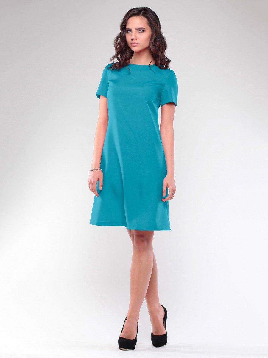 Платье бирюзовое | 1734355