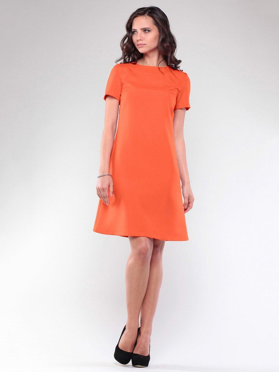 Платье оранжевое | 1734360