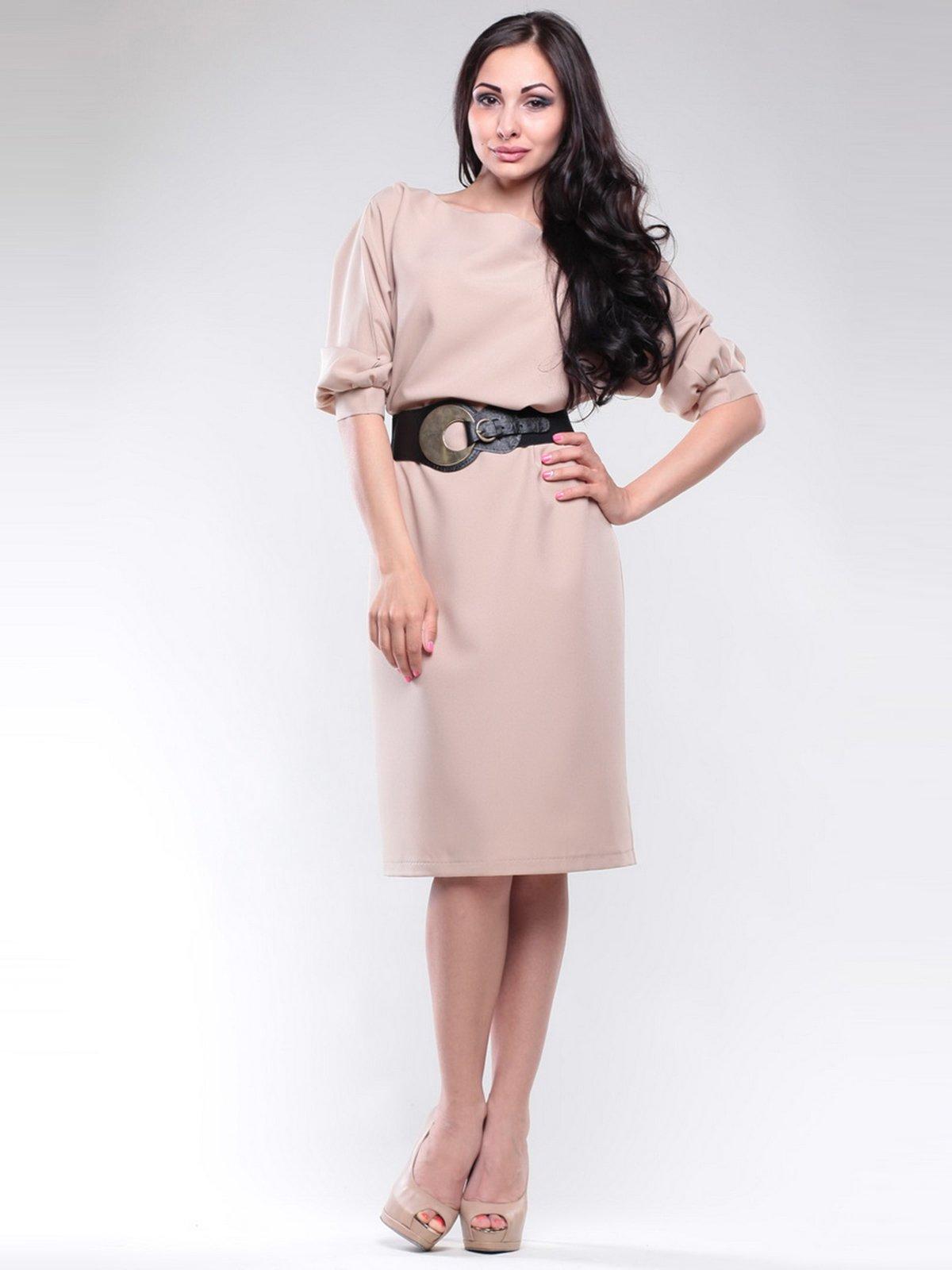 Платье бежевое | 1726805