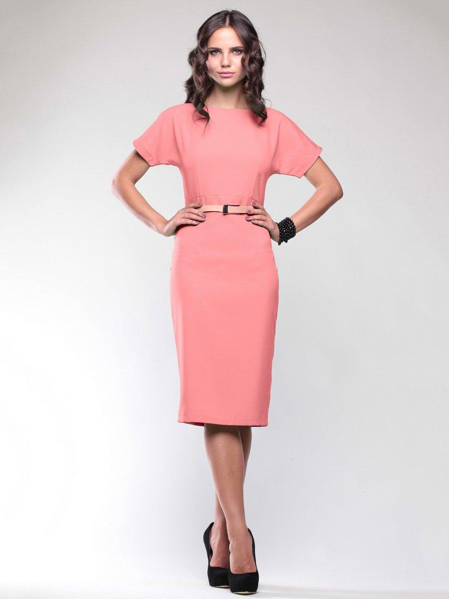 Платье темно-персикового цвета   1746789