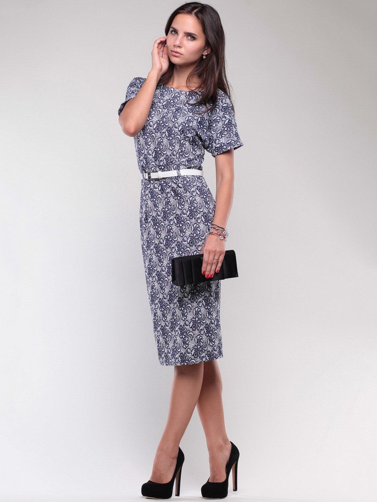 Платье в принт   1754238