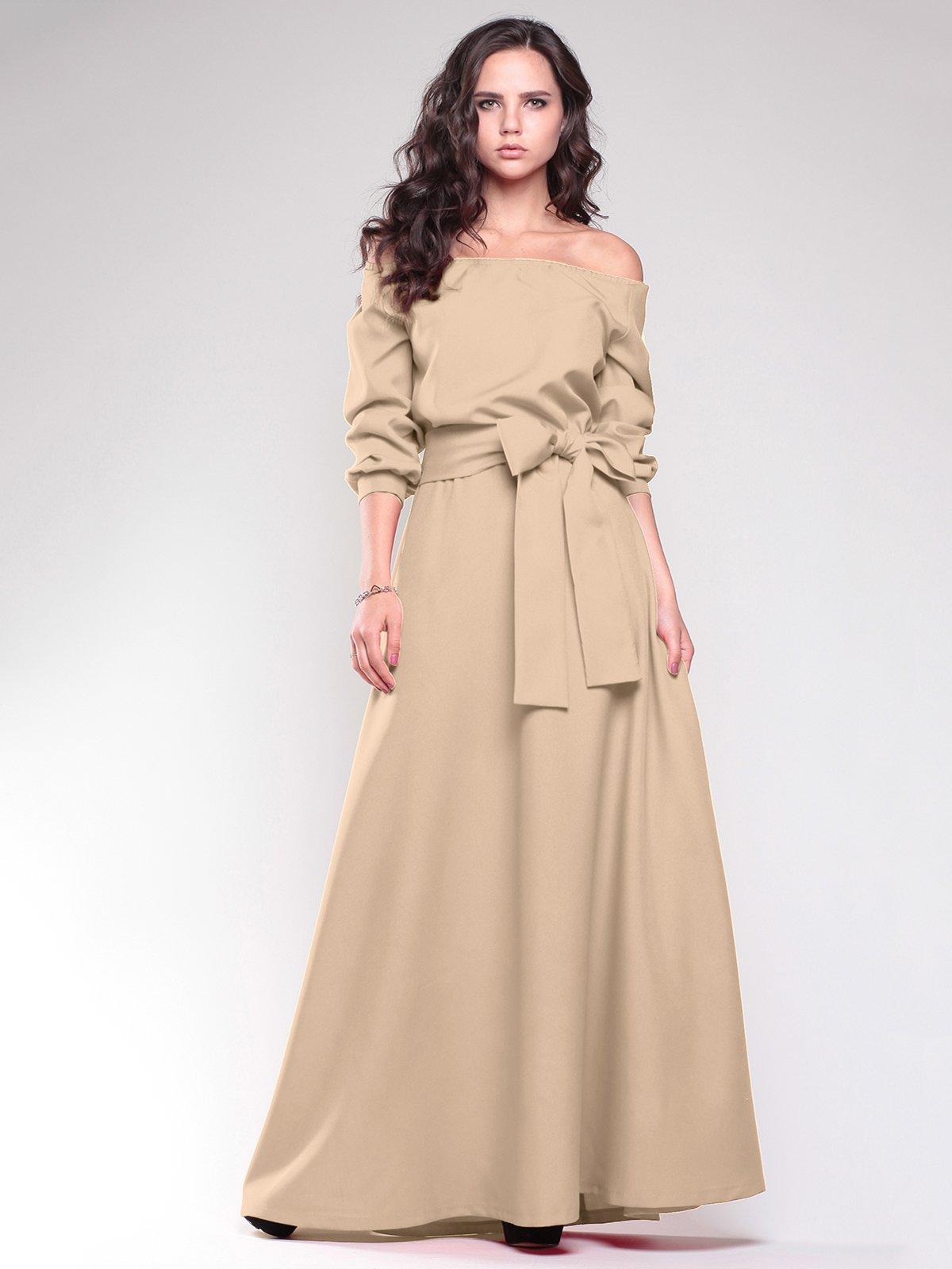 Платье цвета мокко | 1754282