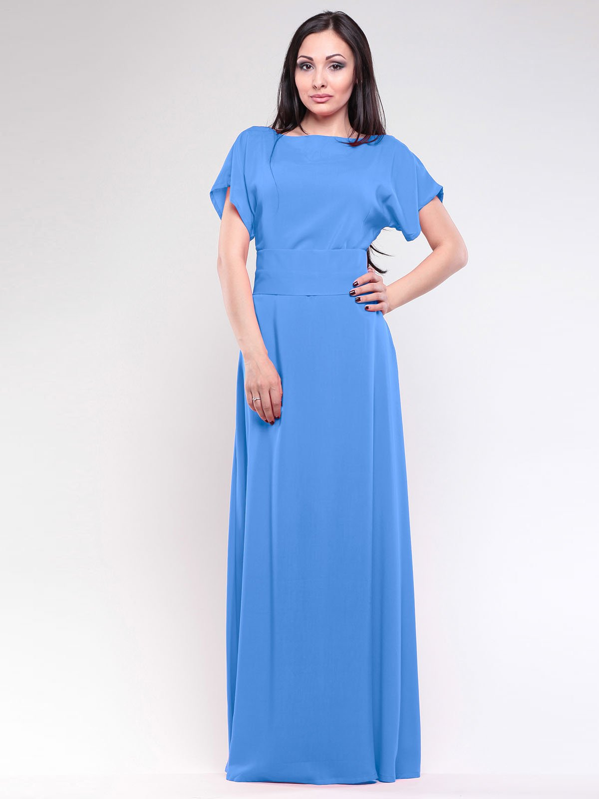 Платье голубое | 1762793