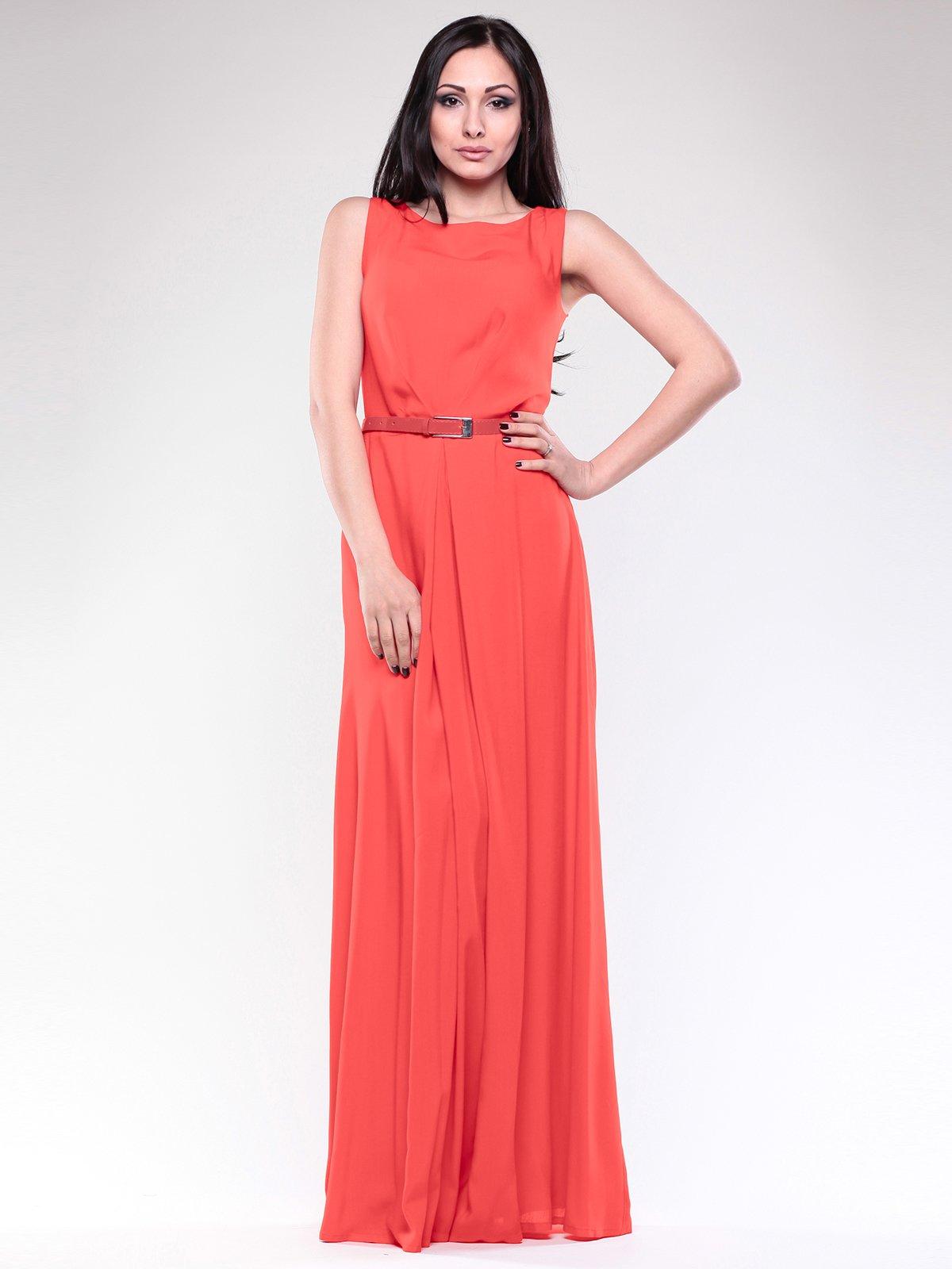 Платье коралловое | 1762809