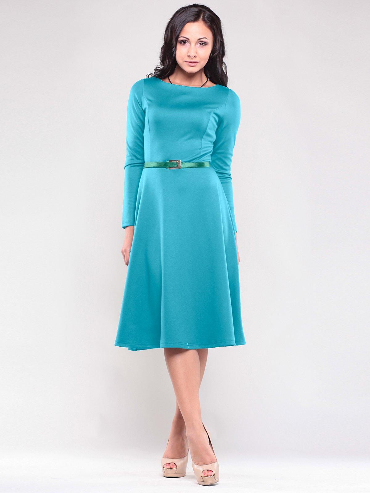 Сукня бірюзова | 1763017
