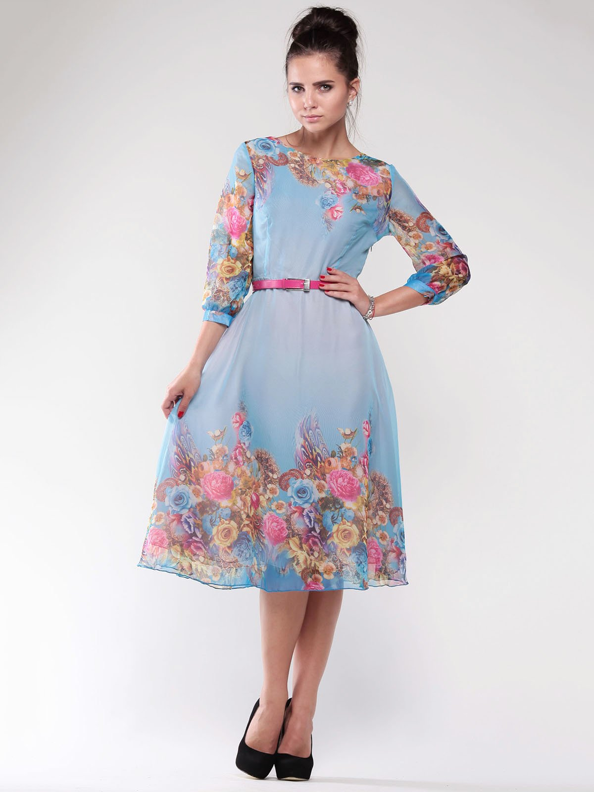 Сукня в квітковий принт | 1762749