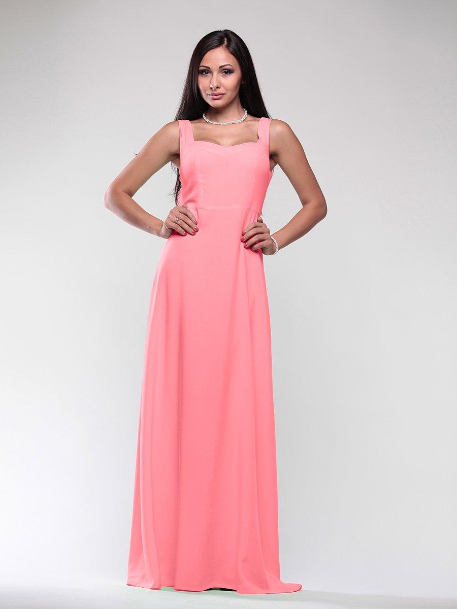 Платье светло-кораллового цвета | 1771210