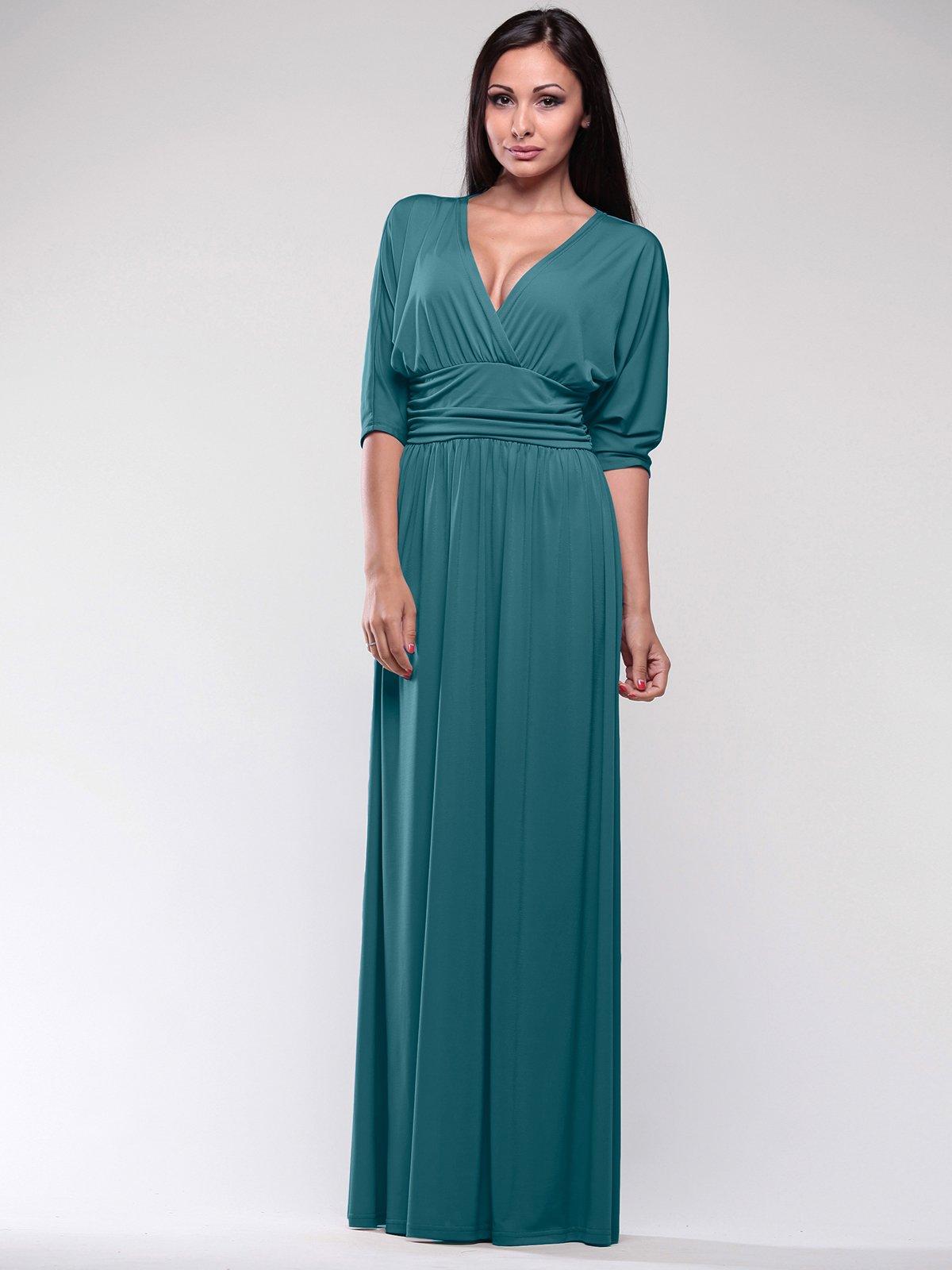Сукня темно-бірюзова | 1771336
