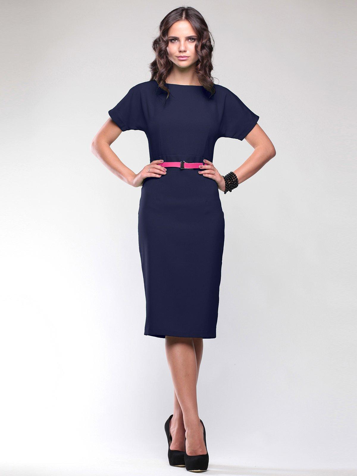 Платье темно-синее | 1771250