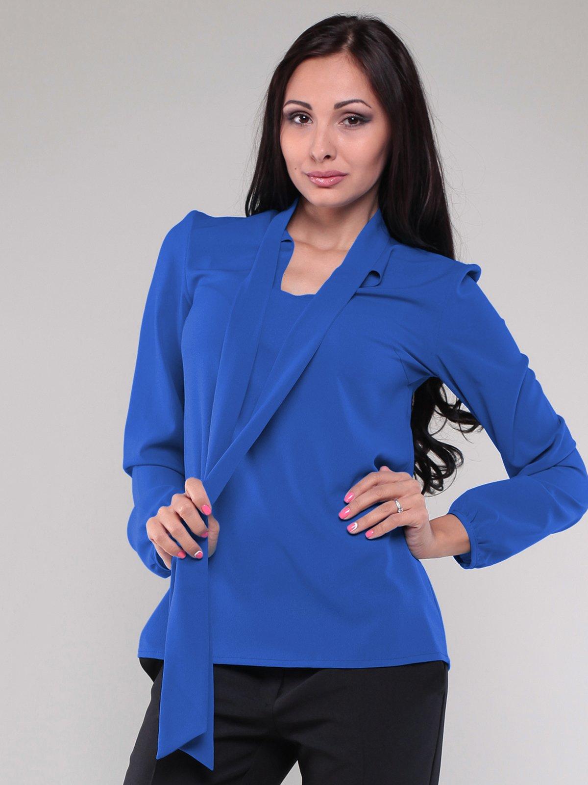 Блуза кольору електрик | 1801183