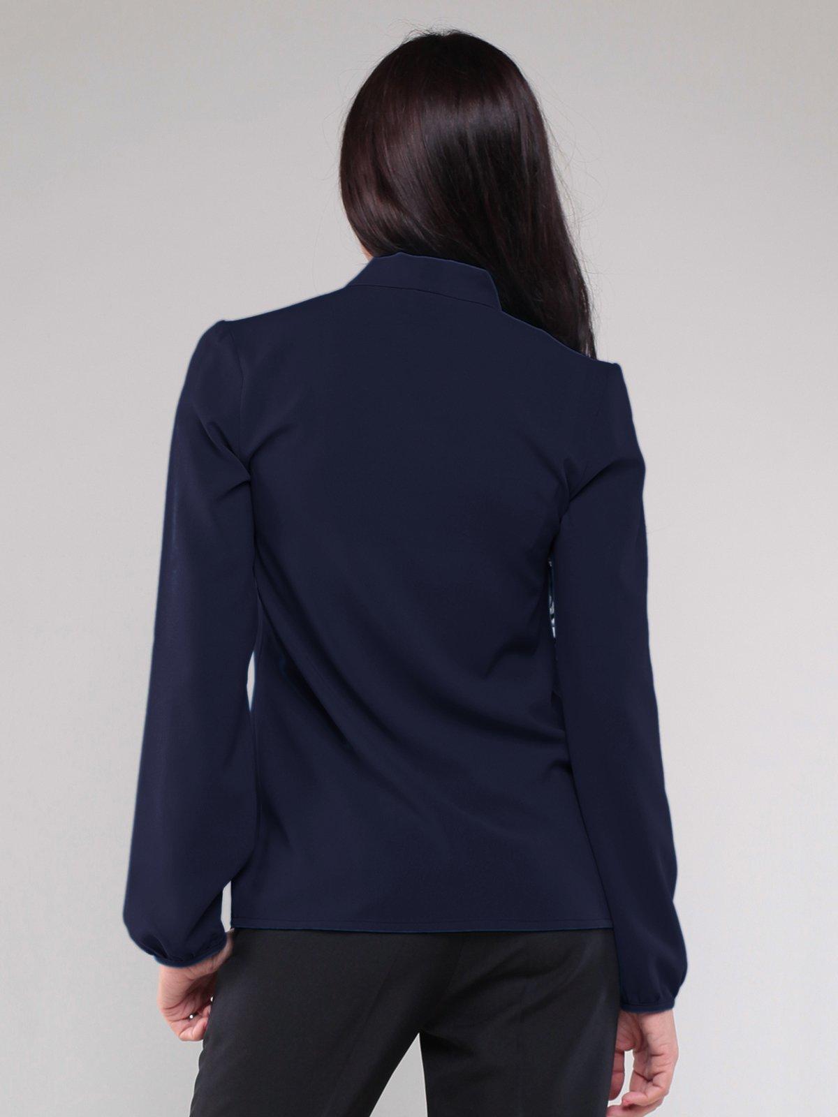 Блуза темно-синяя | 1801186 | фото 2