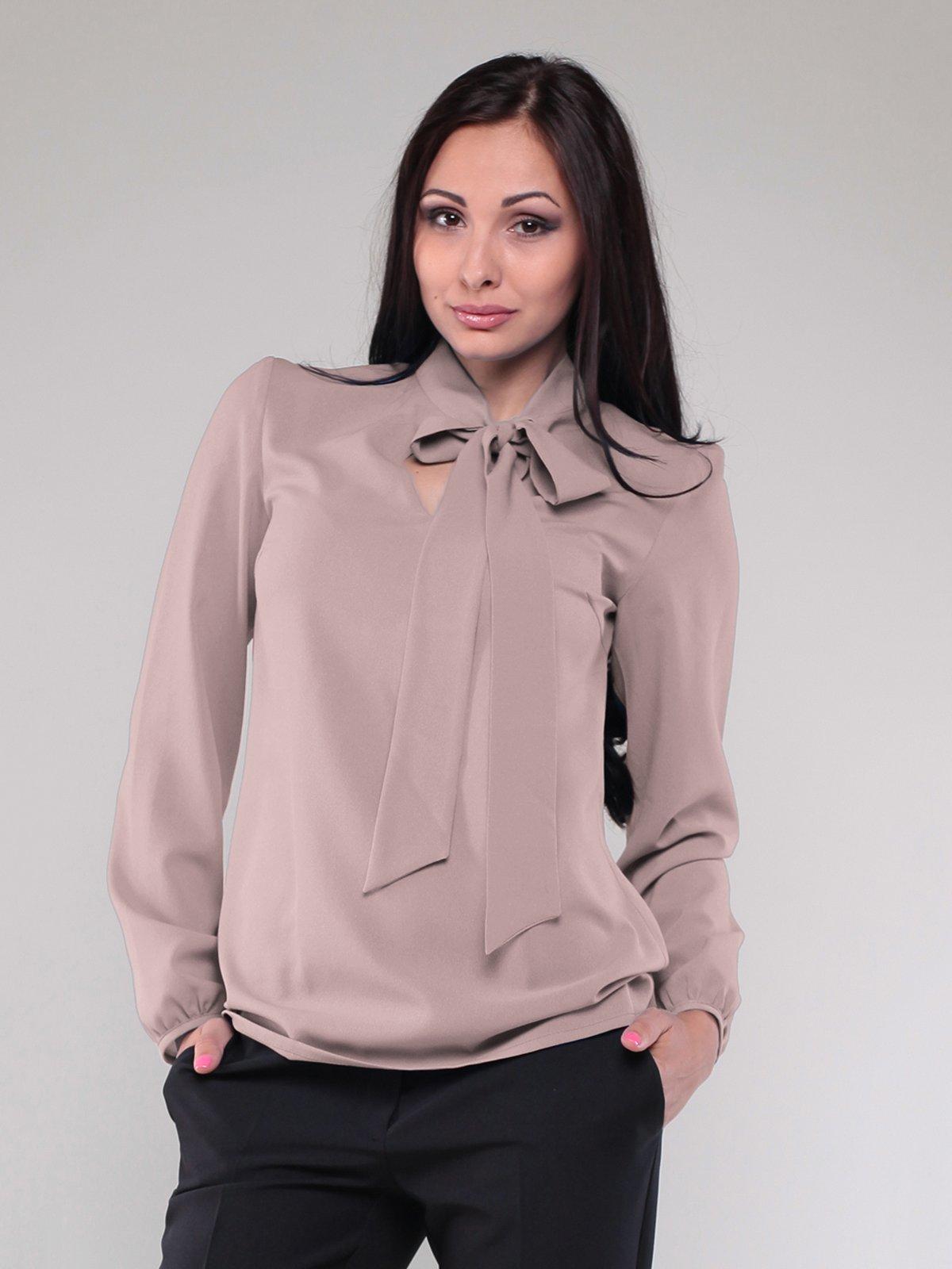 Блуза кольору мокко | 1801187