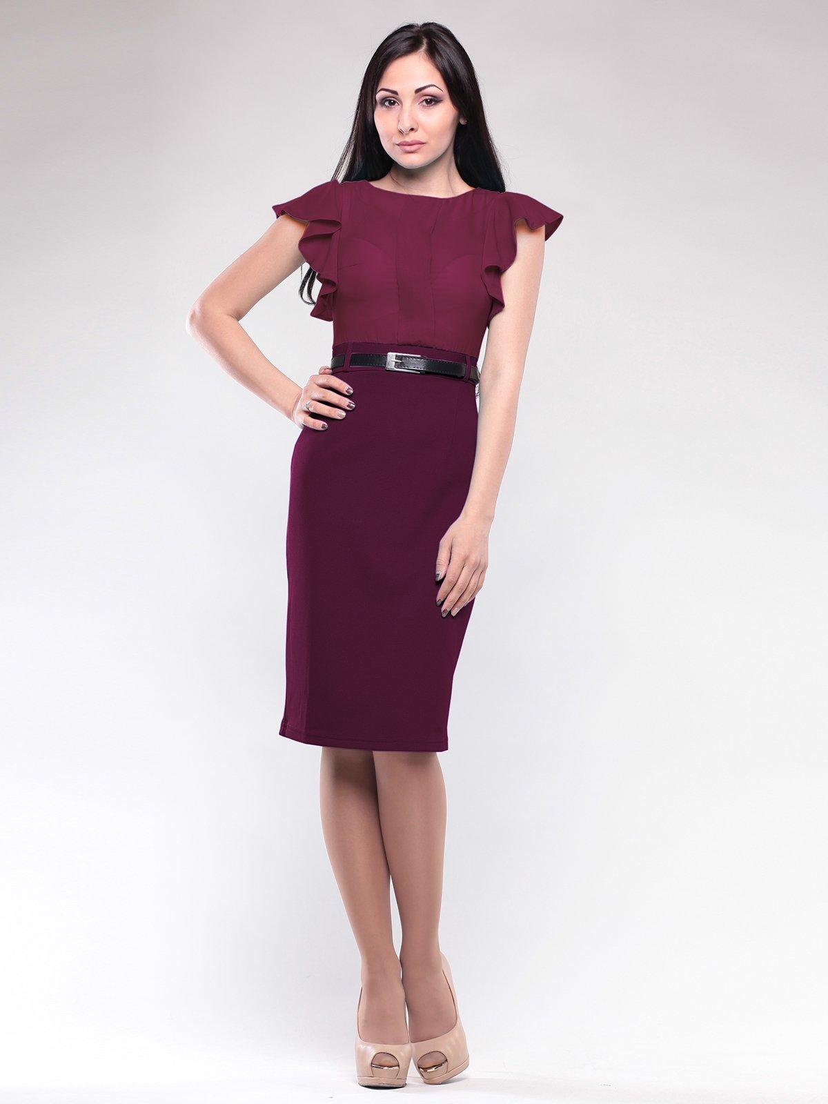Сукня сливового кольору | 1801257