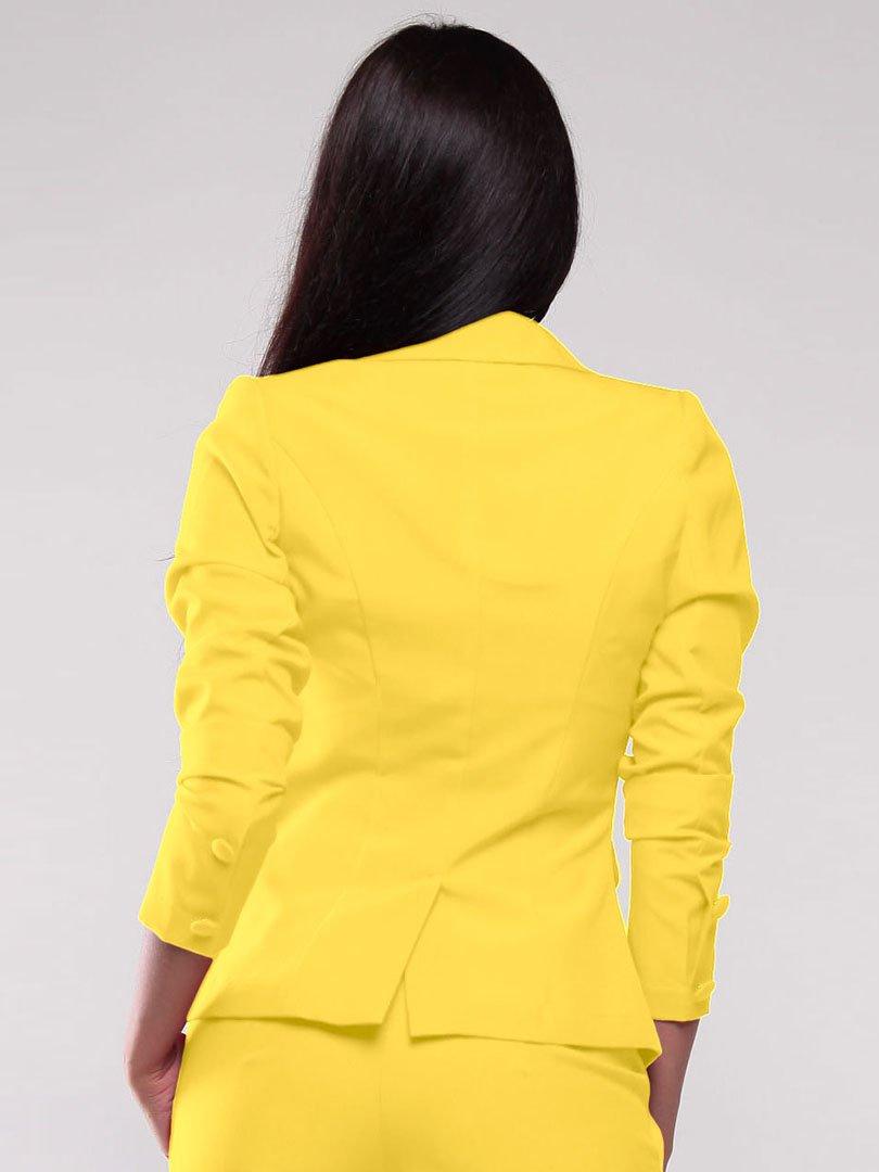 Жакет желтый | 1801267 | фото 2