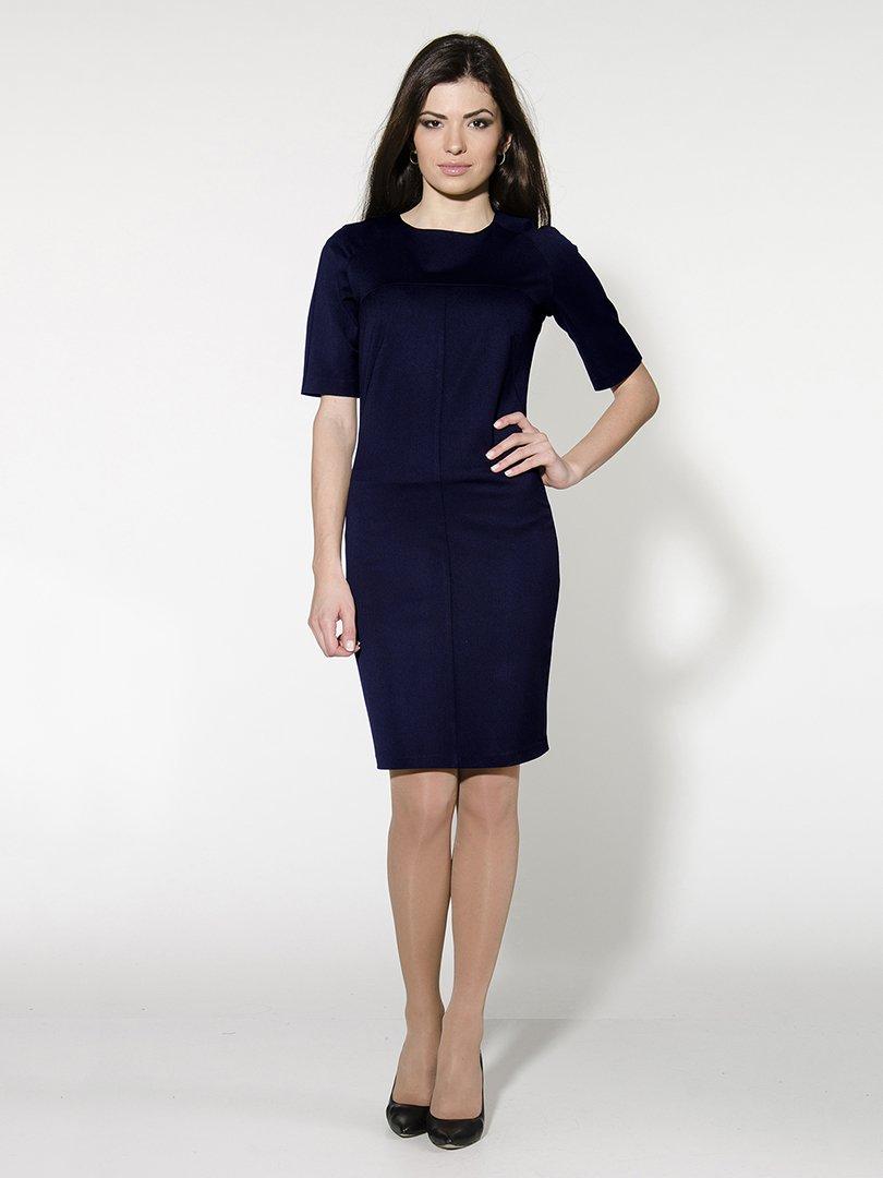 Платье темно-синее   1804896