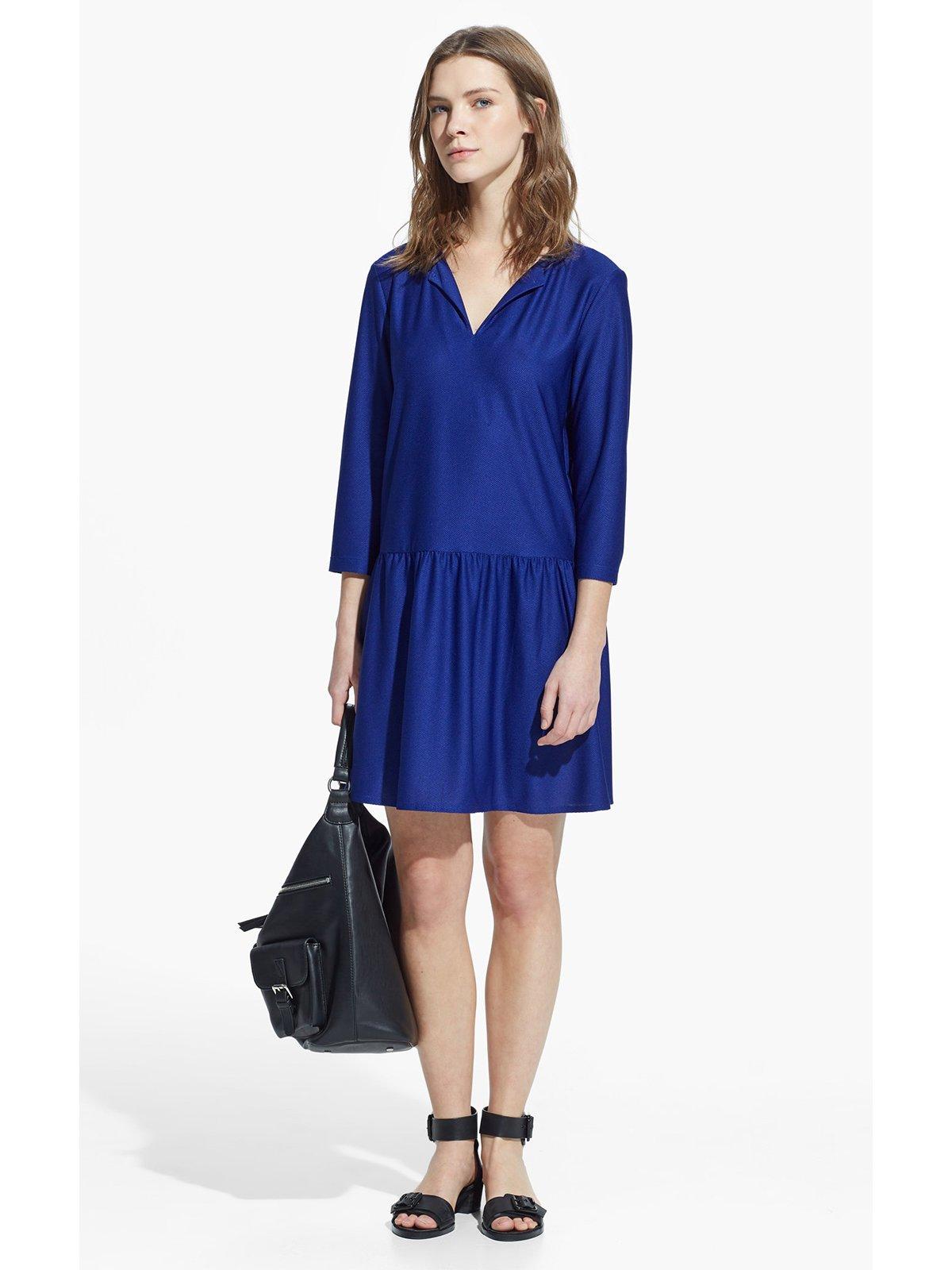 Платье синее   1809950
