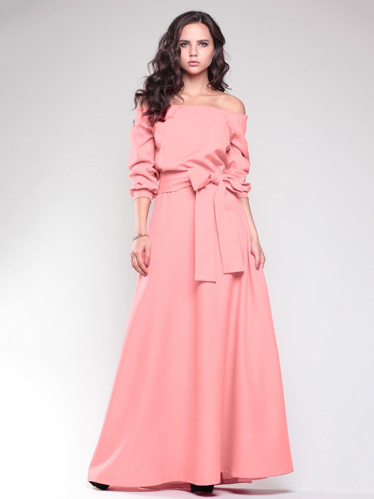 Сукня темно-персикового кольору | 1787426