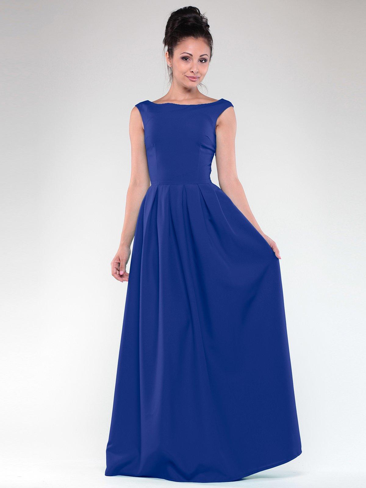 Платье цвета электрик | 1822326
