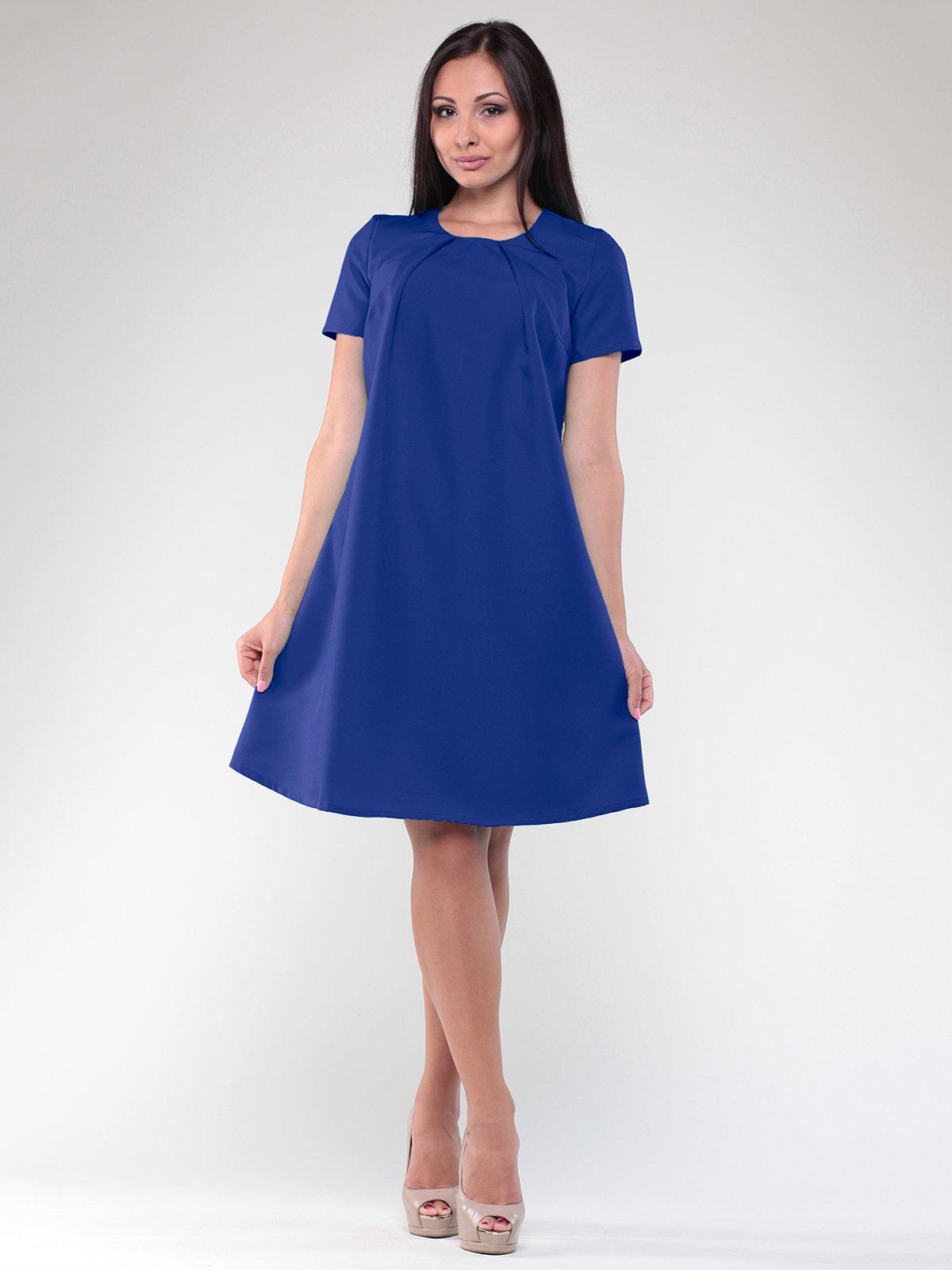 Сукня кольору електрик | 1822737
