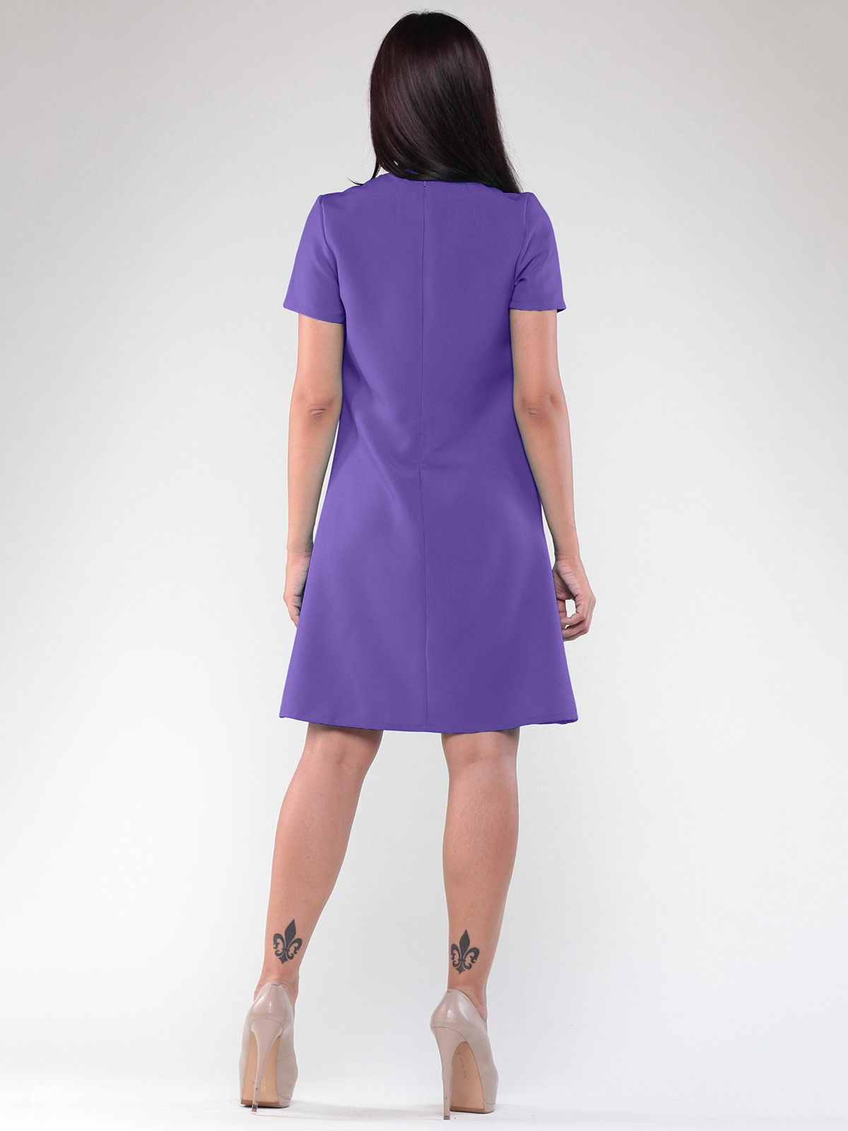 Платье светло-фиалкового цвета | 1822742 | фото 2