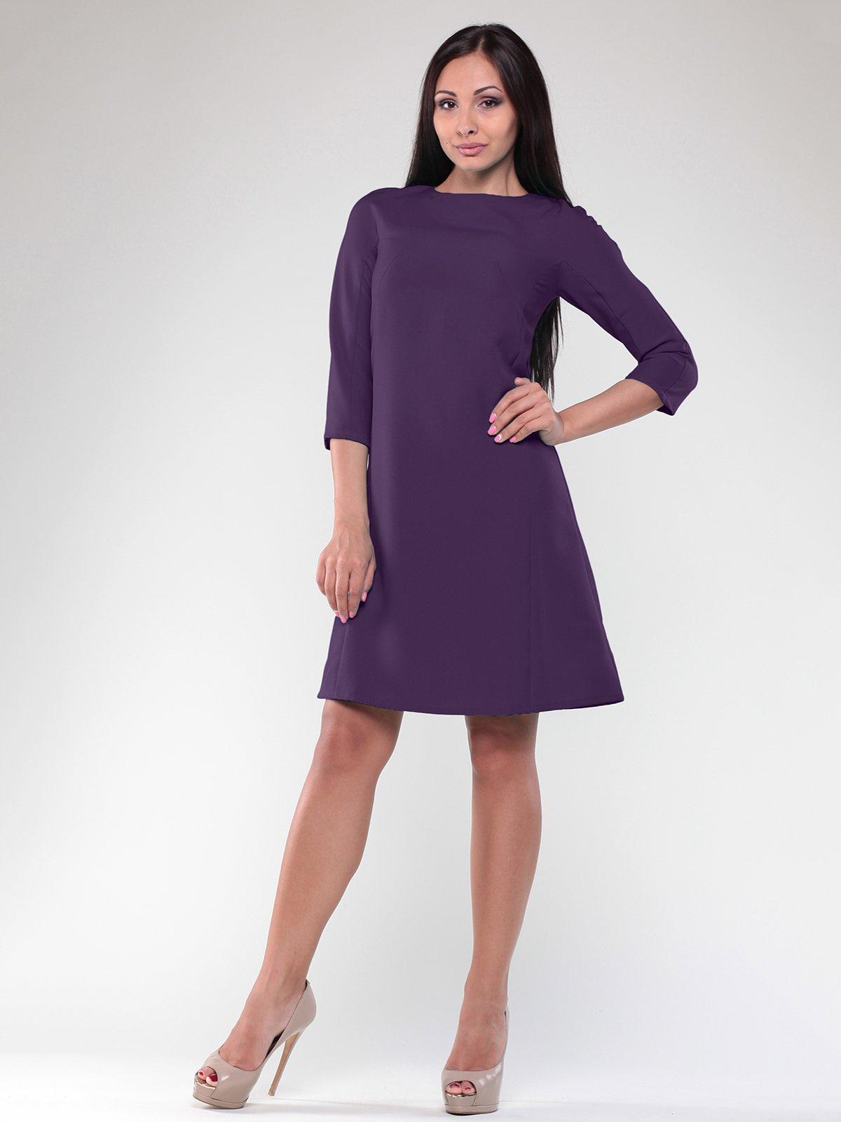 Сукня темно-фіолетова | 1822745