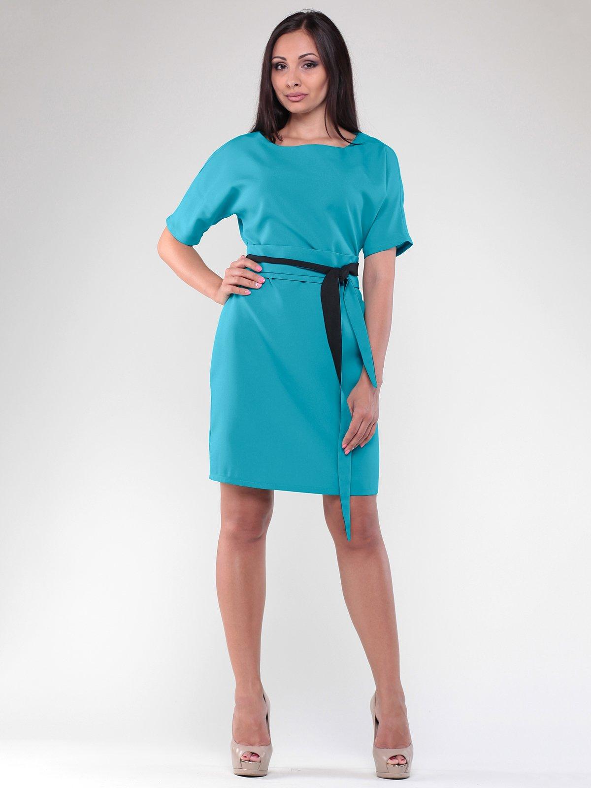 Платье бирюзовое | 1832205
