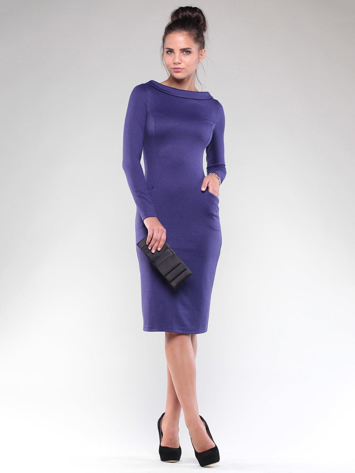Платье темно-фиолетовое | 1832230