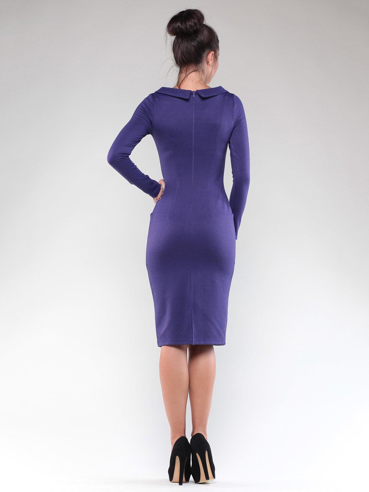 Платье темно-фиолетовое | 1832230 | фото 2
