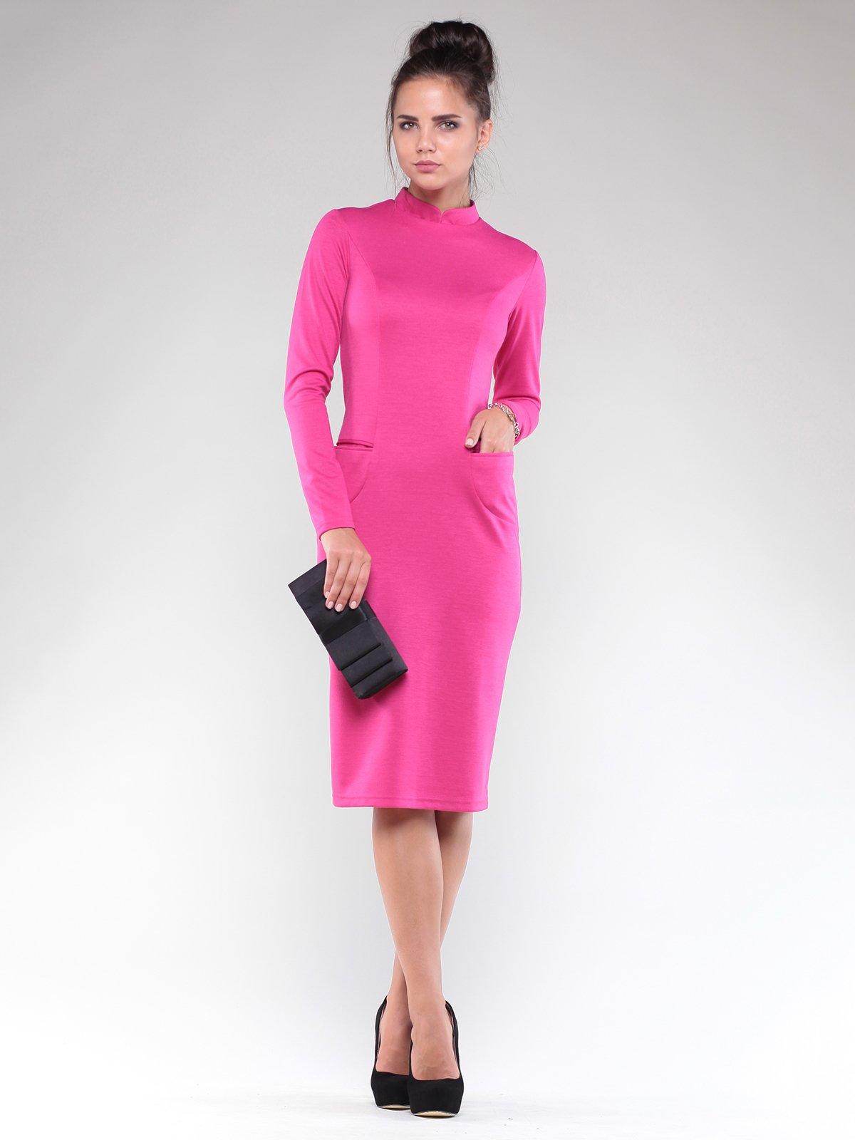 Сукня кольору фуксії | 1832248