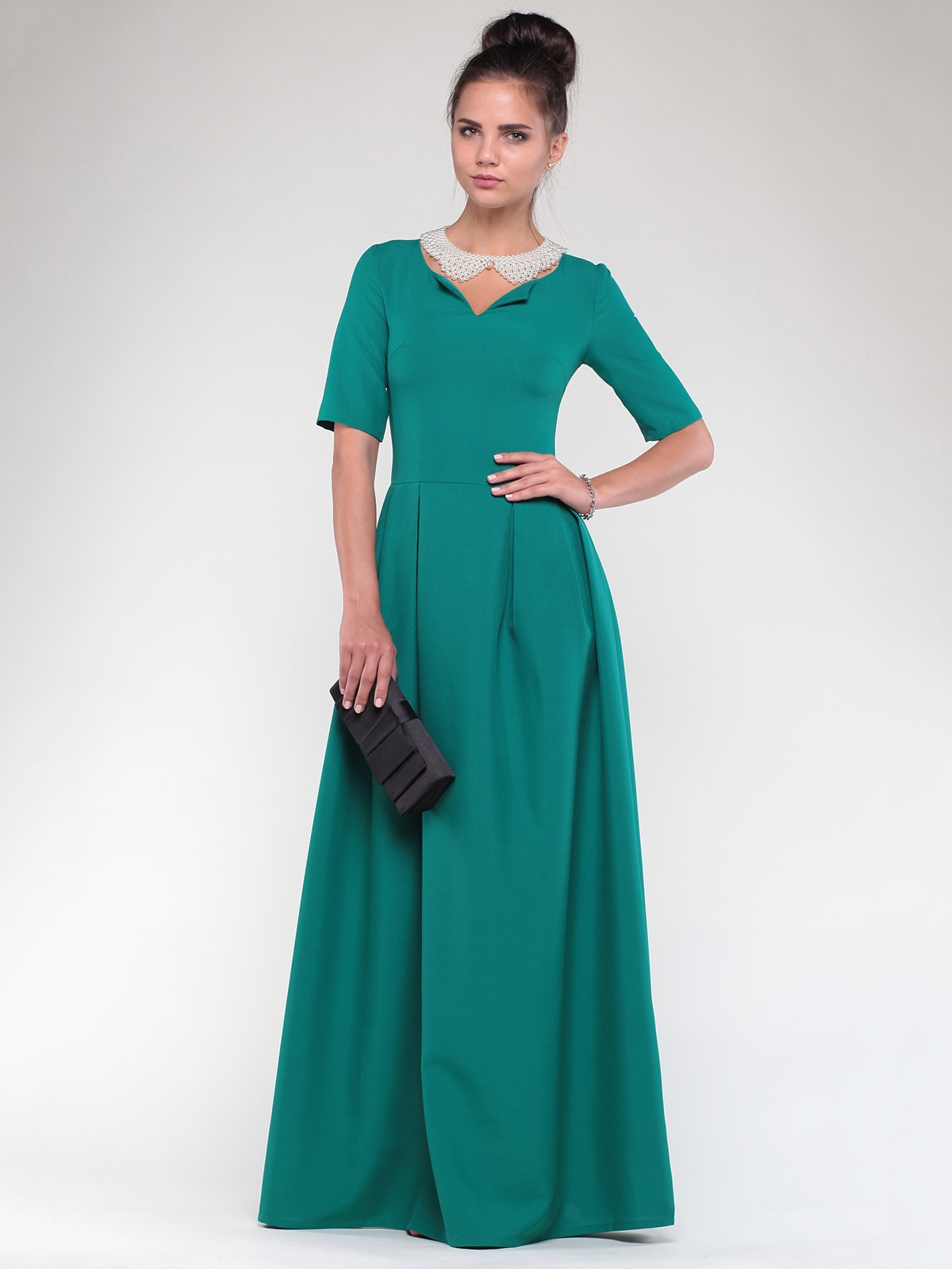Платье зеленое   1832179