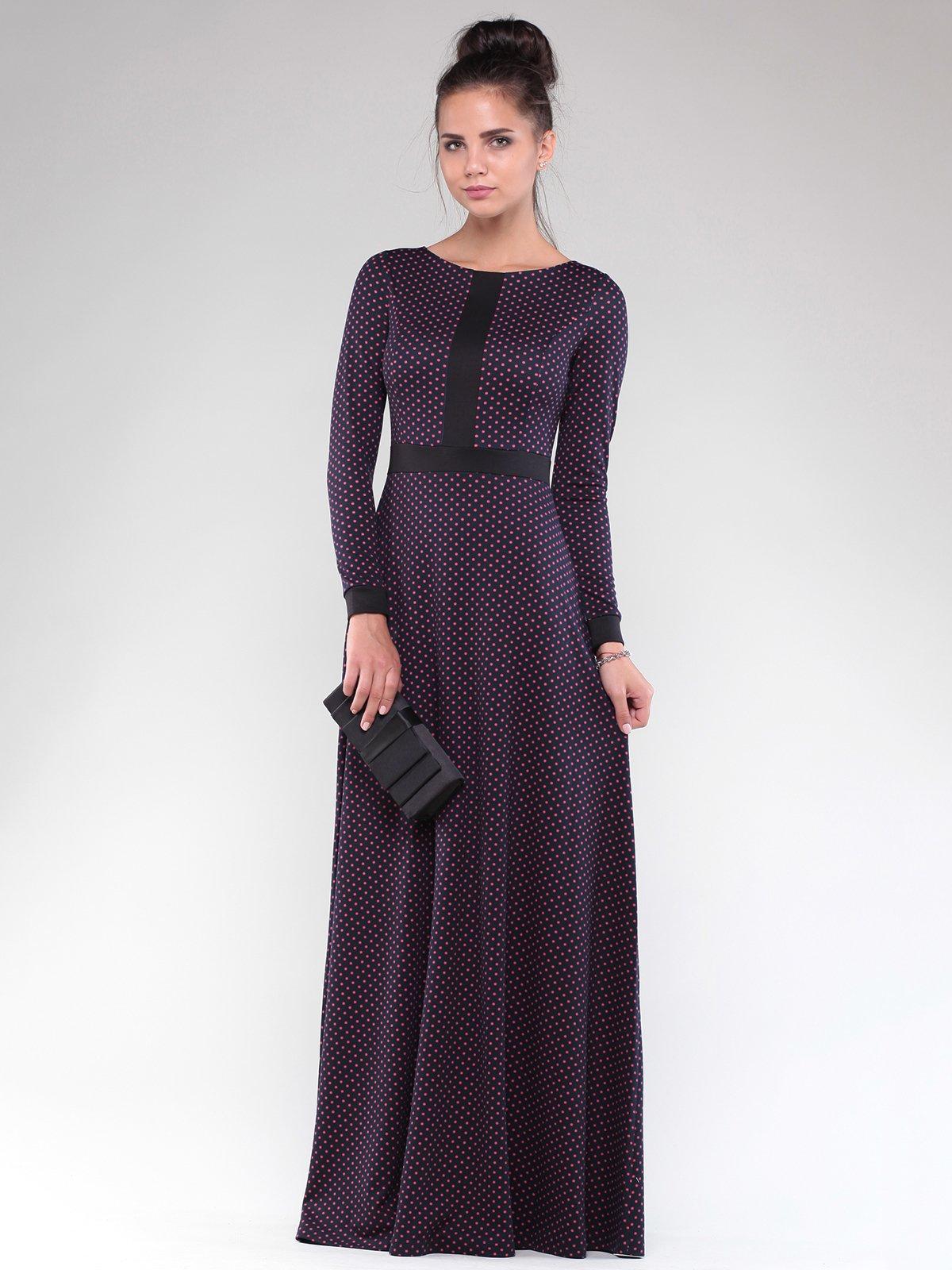 Сукня чорна в горох | 1832295