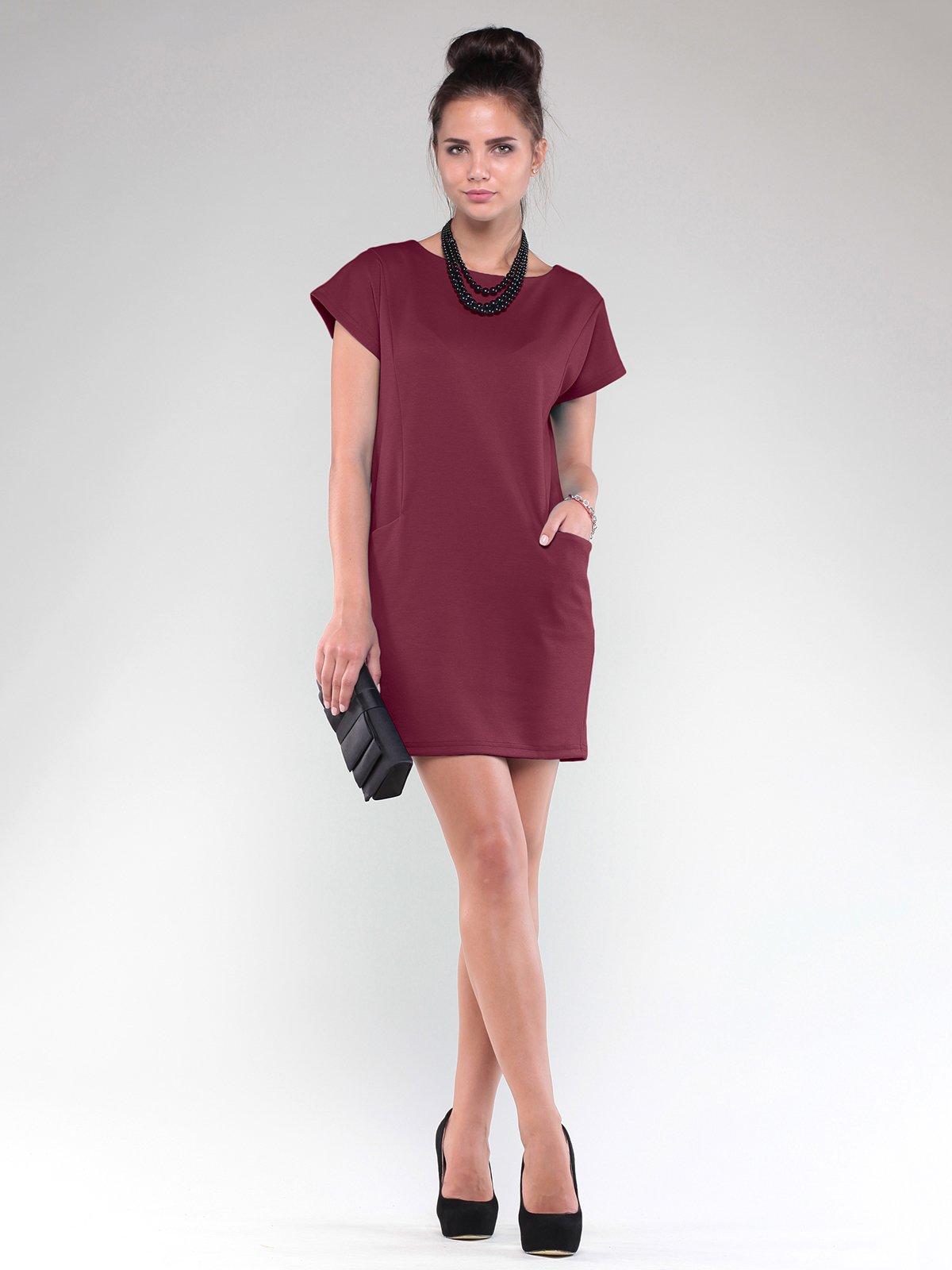 Платье сливового цвета | 1832224