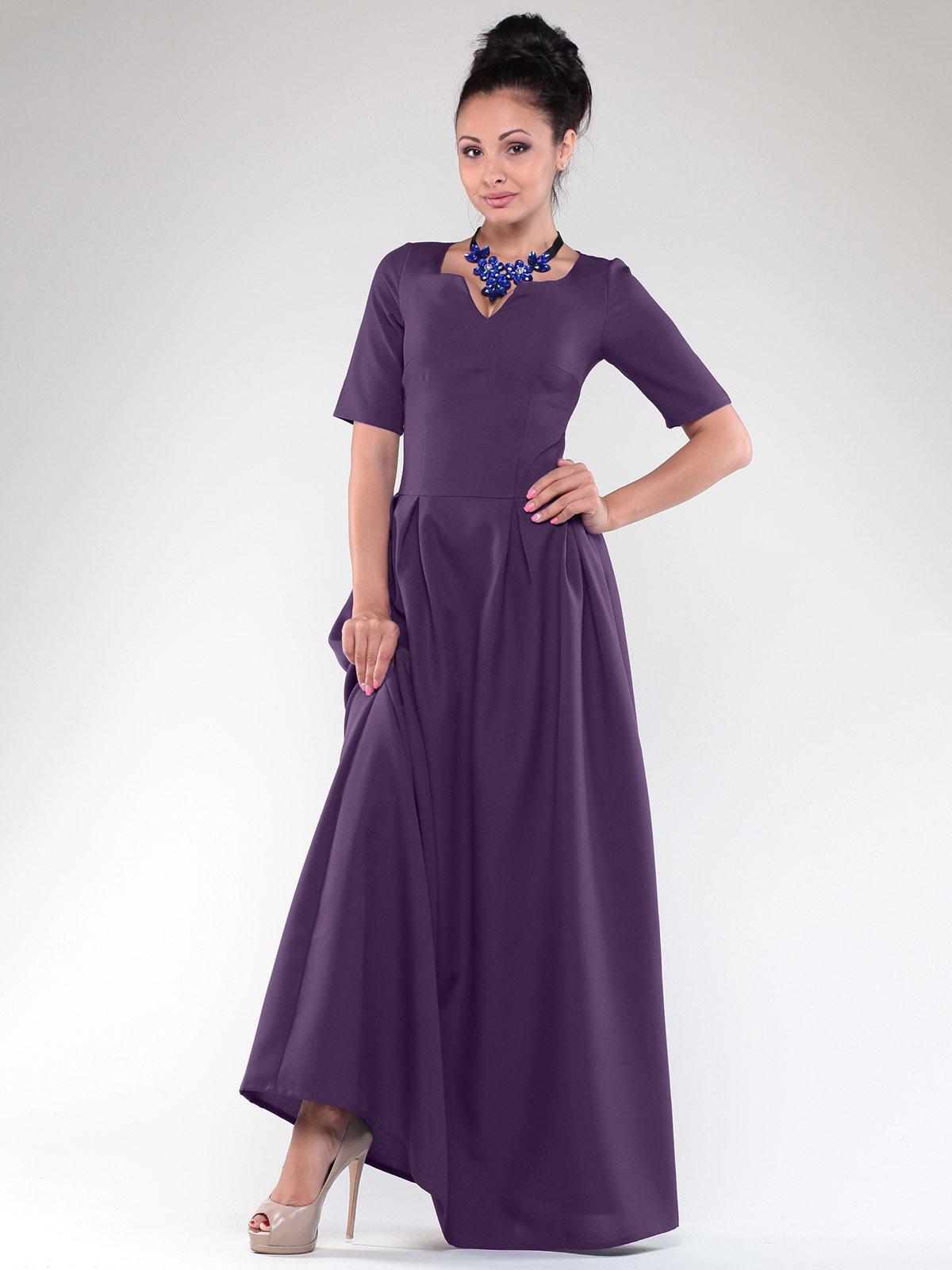 Платье темно-фиолетовое | 1832181
