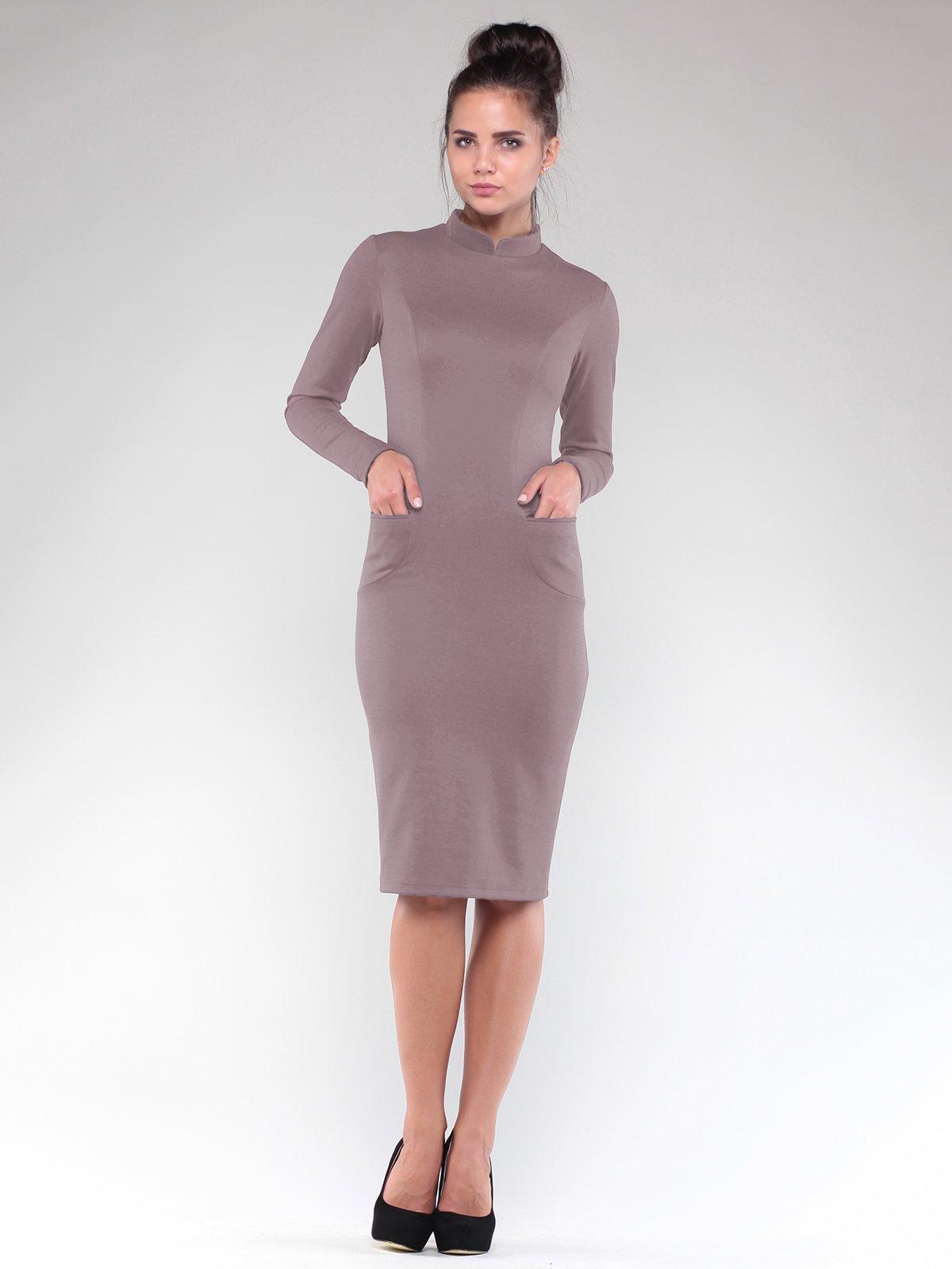 Платье цвета мокко   1832254