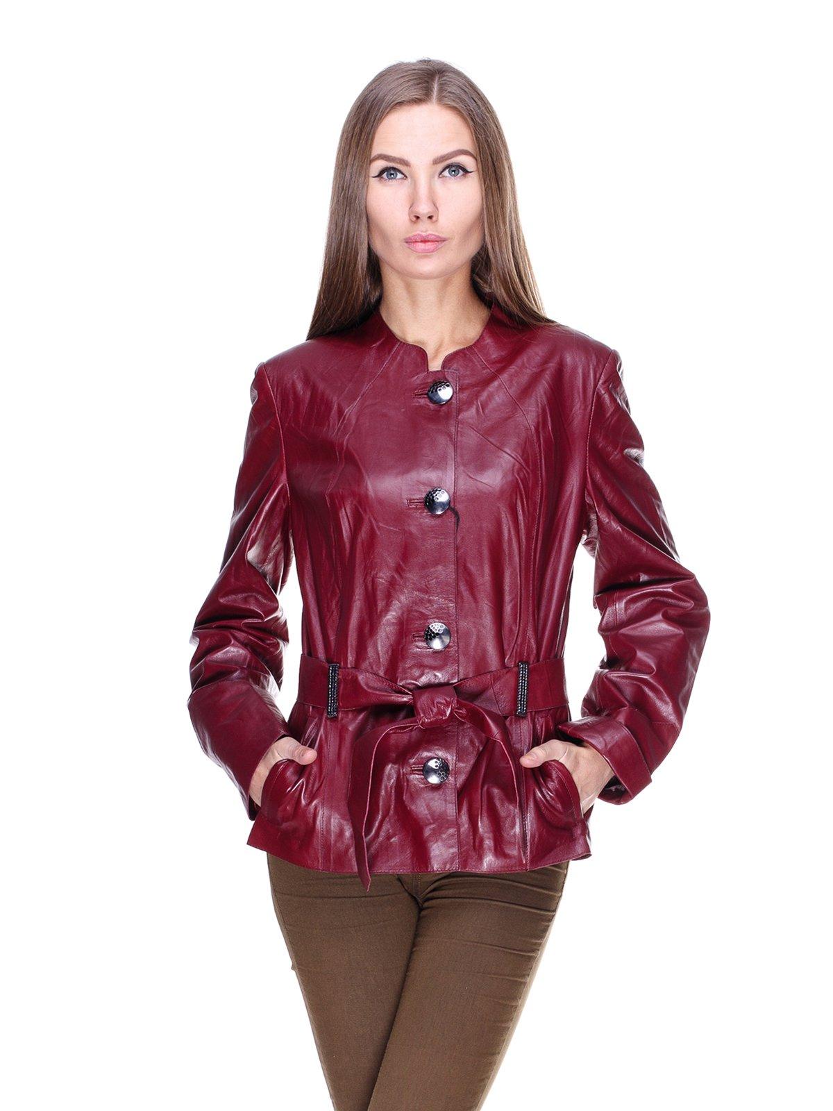 Куртка темно-бордова | 1830312