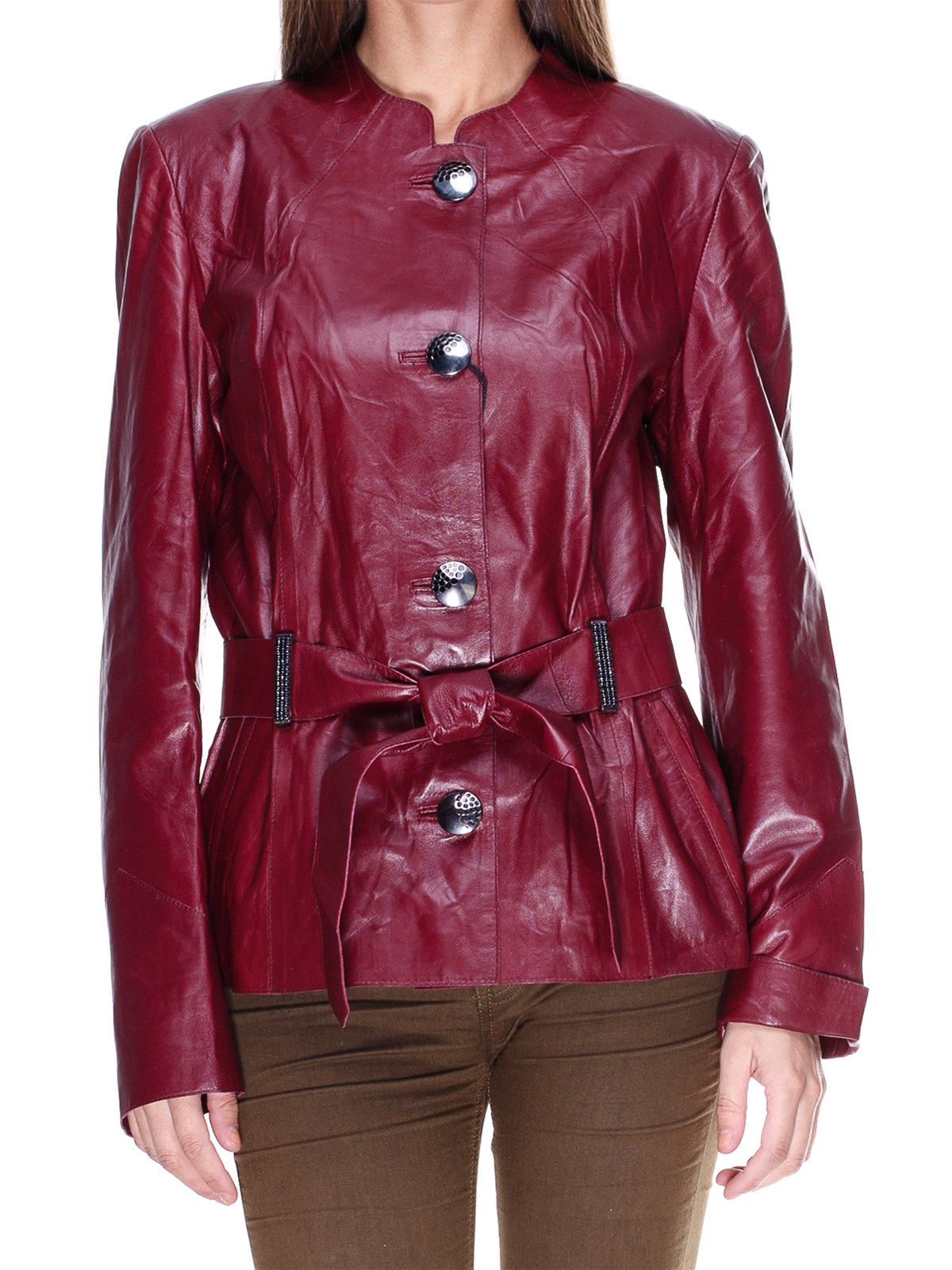 Куртка темно-бордова | 1830312 | фото 3