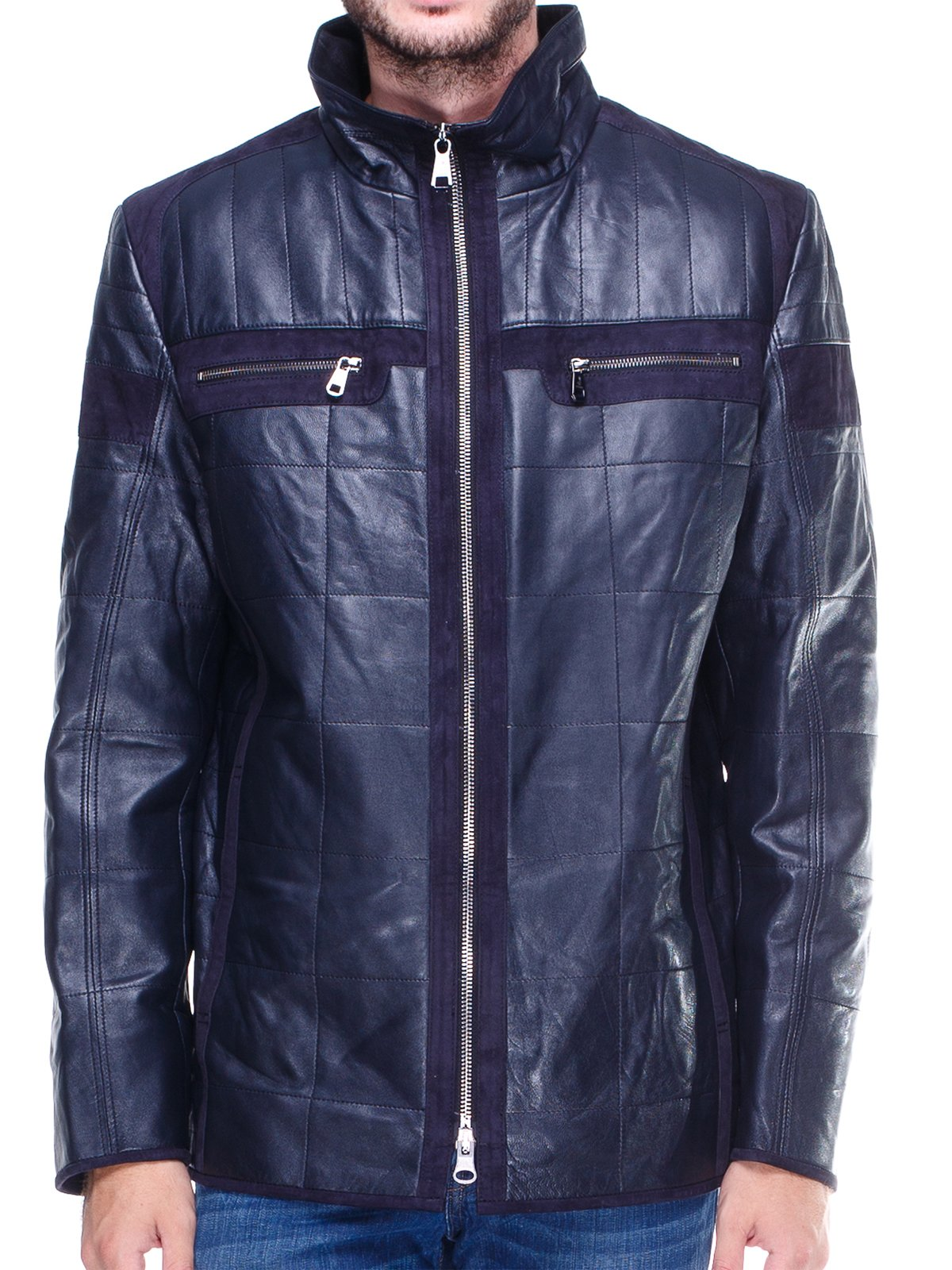 Куртка темно-синяя | 1830328 | фото 3