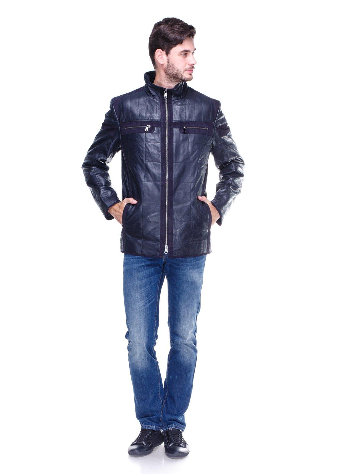 Куртка темно-синяя | 1830328 | фото 4