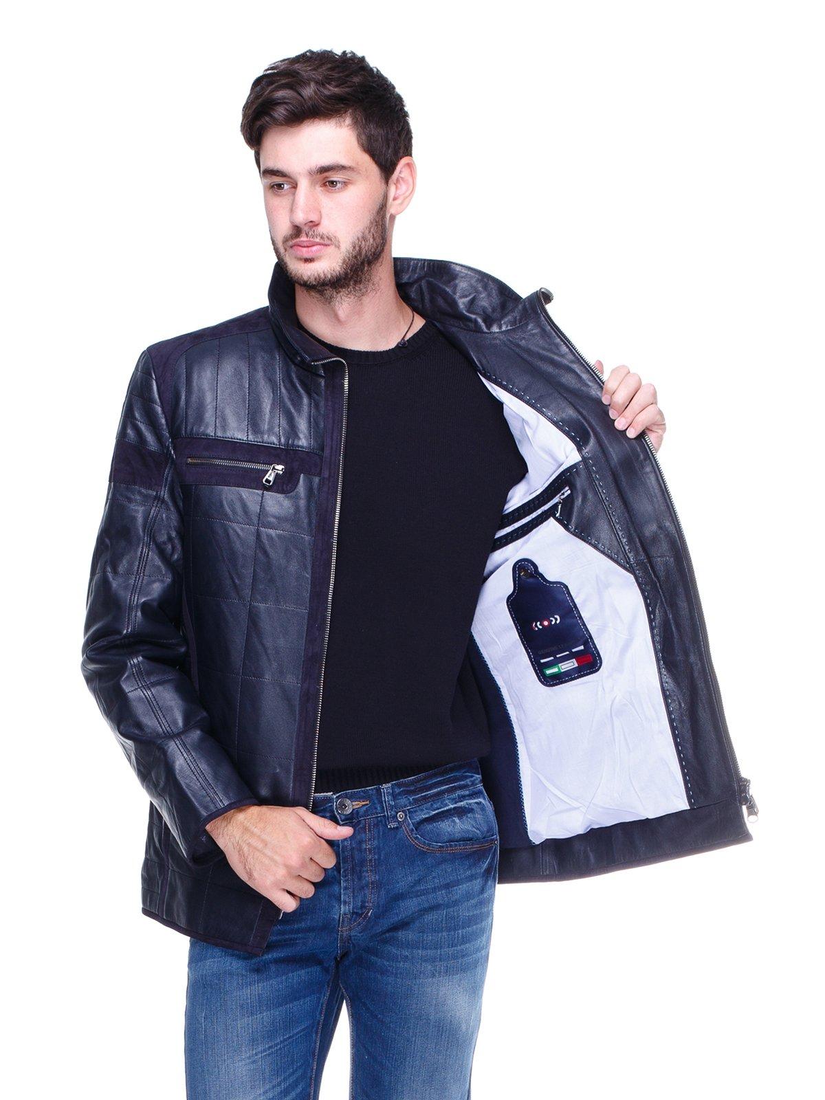 Куртка темно-синяя | 1830328 | фото 5