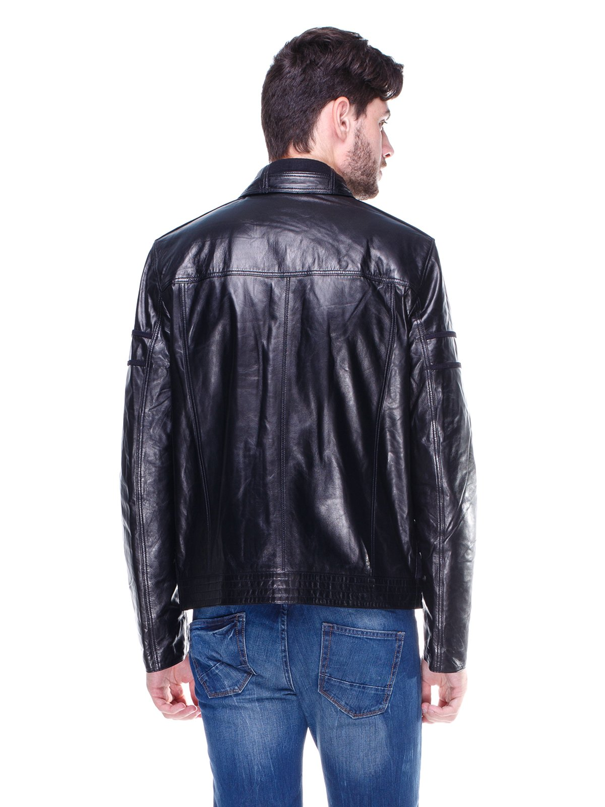 Куртка чорно-синя   1830326   фото 2