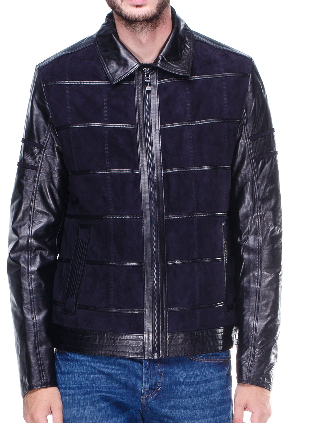 Куртка чорно-синя   1830326   фото 3
